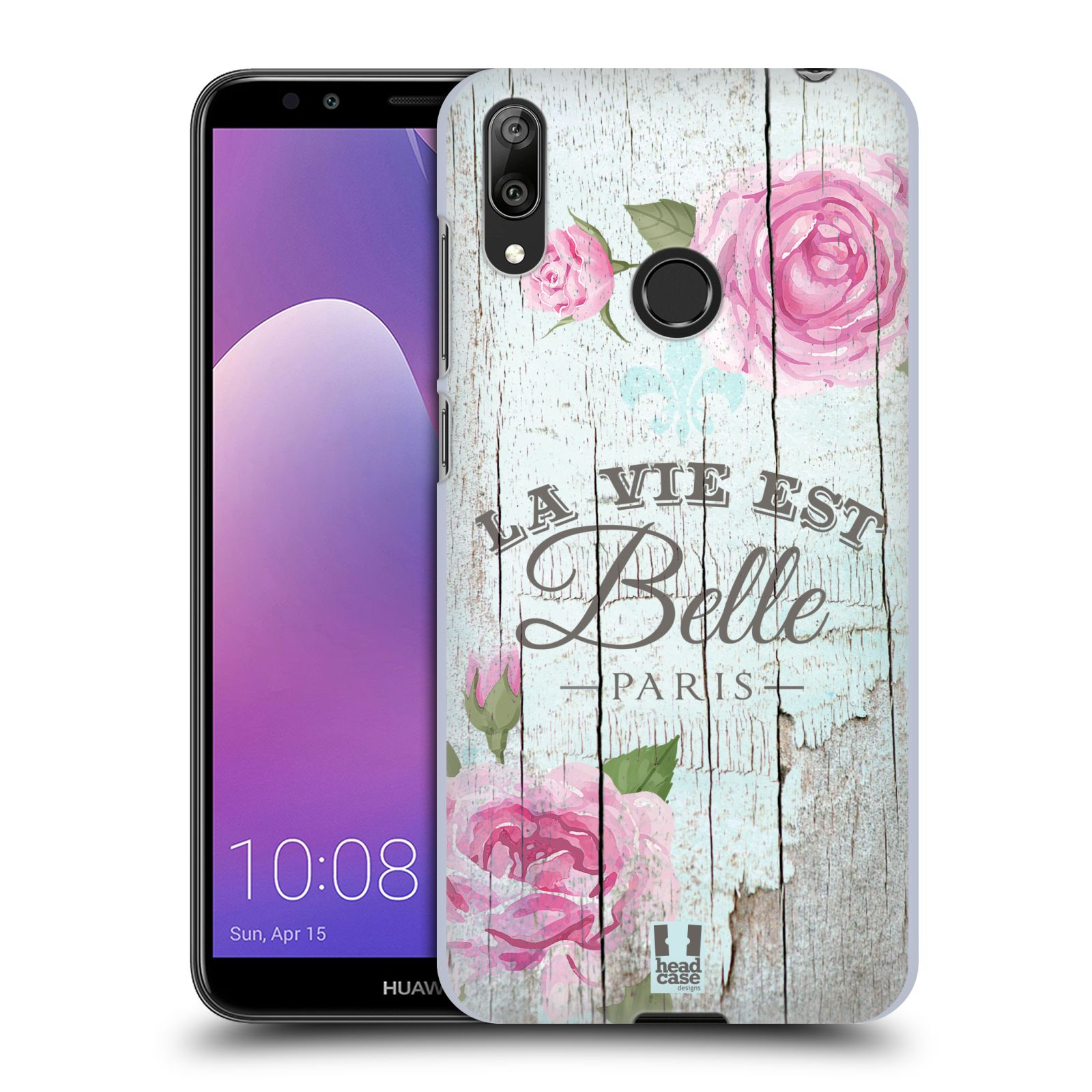 Plastové pouzdro na mobil Huawei Y7 (2019) - Head Case - LIFE IN THE COUNTRY BELLE