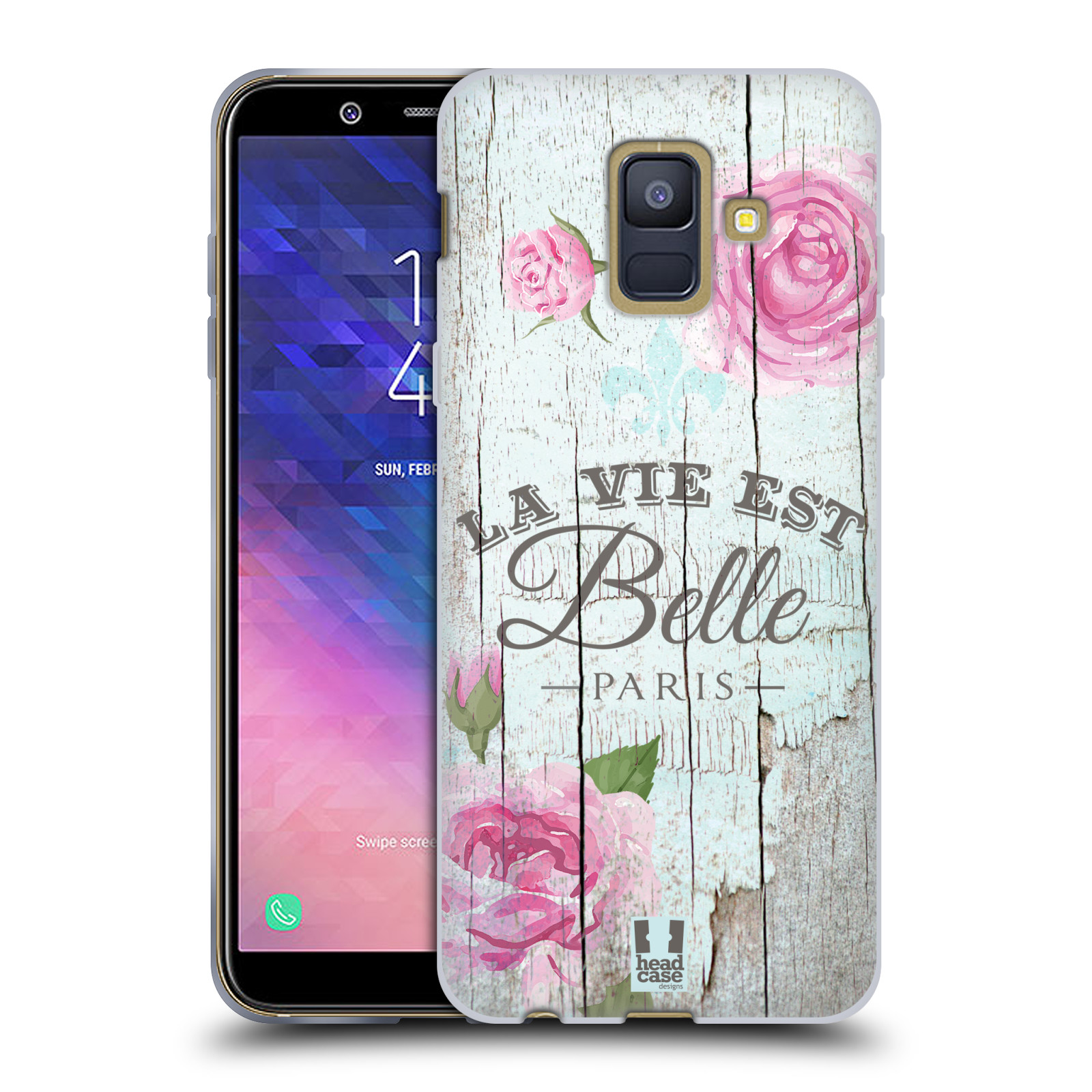 Silikonové pouzdro na mobil Samsung Galaxy A6 (2018) - Head Case - LIFE IN THE COUNTRY BELLE