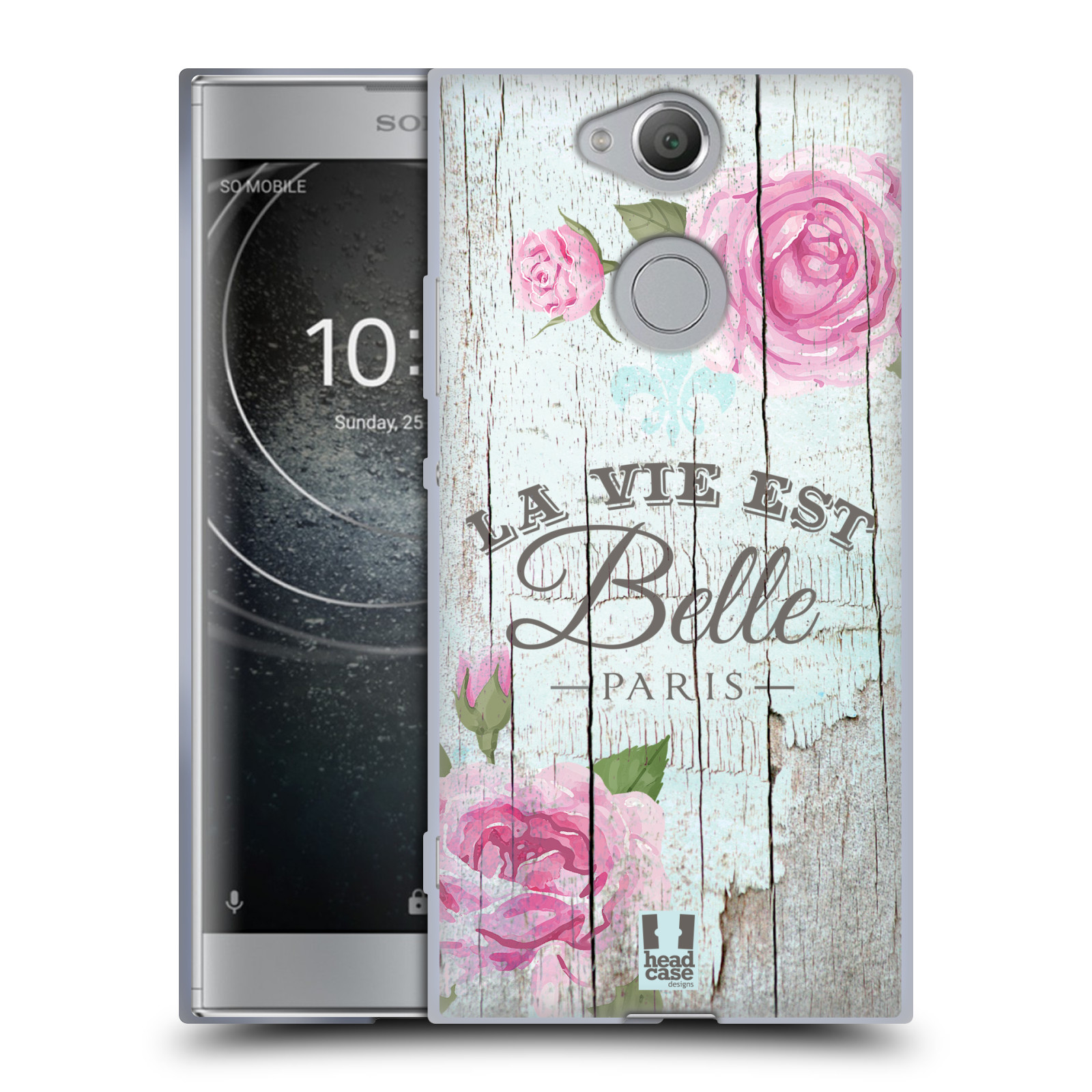 Silikonové pouzdro na mobil Sony Xperia XA2 - Head Case - LIFE IN THE COUNTRY BELLE