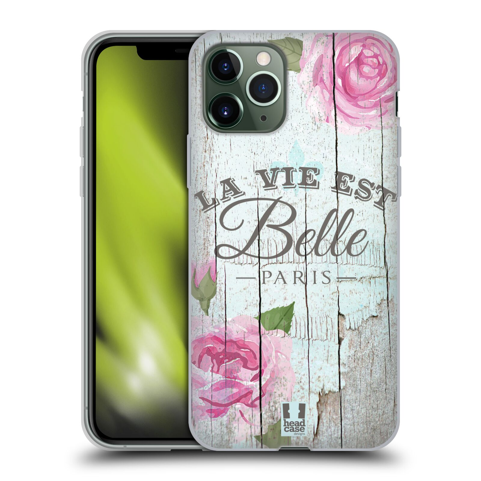 iphone 7 zlatý - Silikonové pouzdro na mobil Apple iPhone 11 Pro - Head Case - LIFE IN THE COUNTRY BELLE