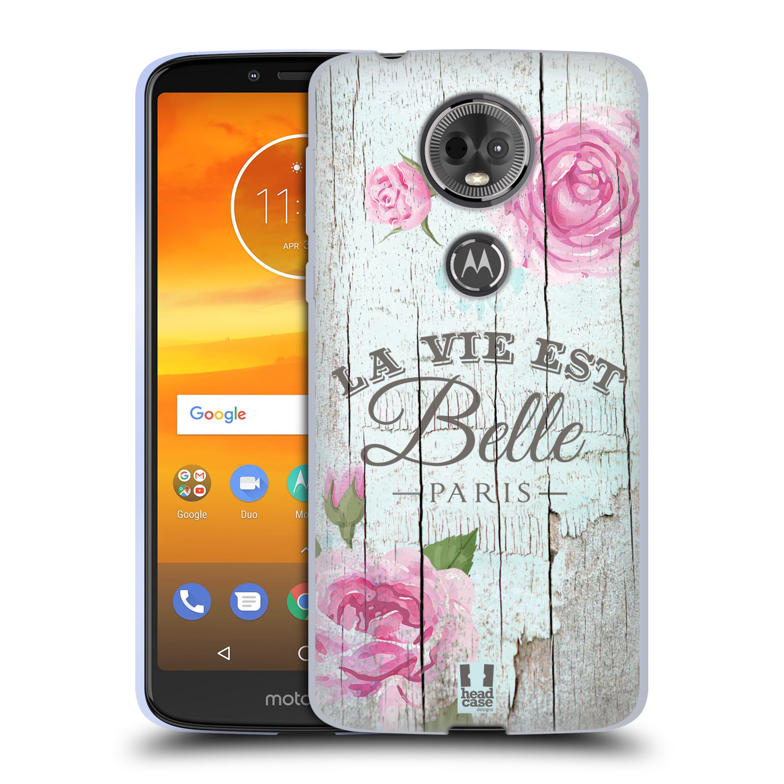 Silikonové pouzdro na mobil Motorola Moto E5 Plus - Head Case - LIFE IN THE COUNTRY BELLE