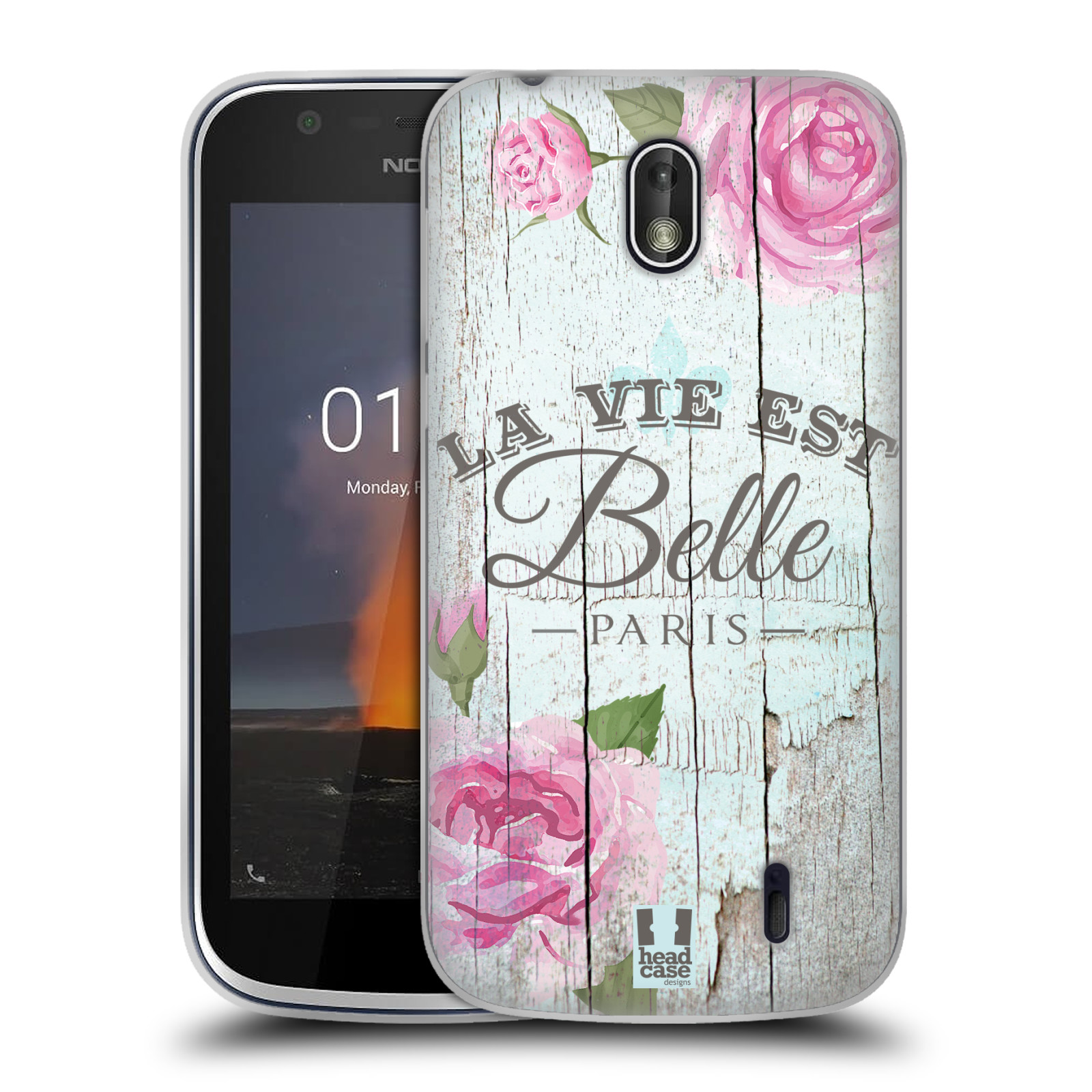 Silikonové pouzdro na mobil Nokia 1 - Head Case - LIFE IN THE COUNTRY BELLE