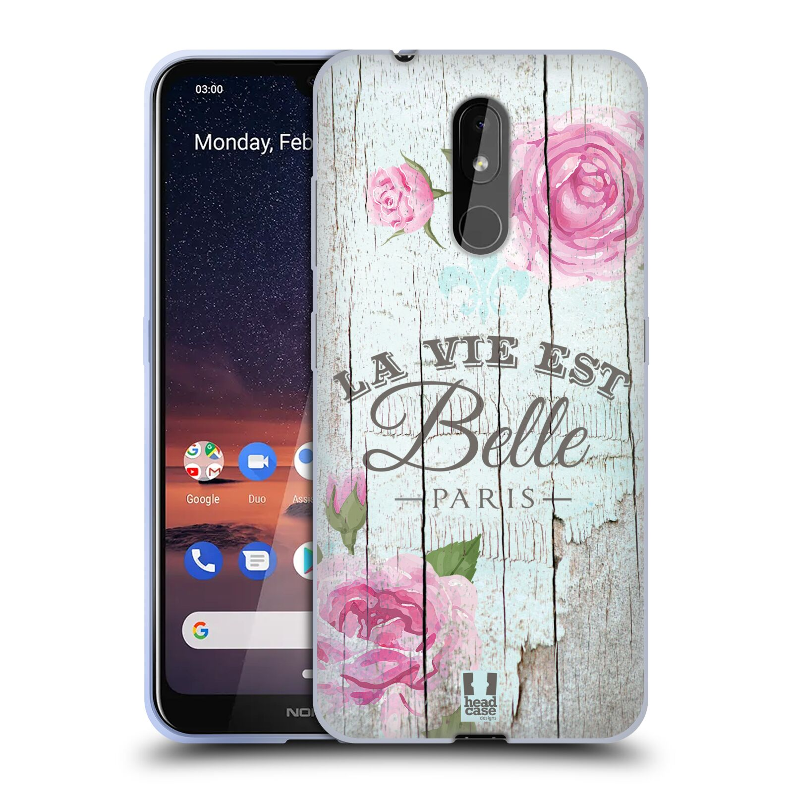 Silikonové pouzdro na mobil Nokia 3.2 - Head Case - LIFE IN THE COUNTRY BELLE