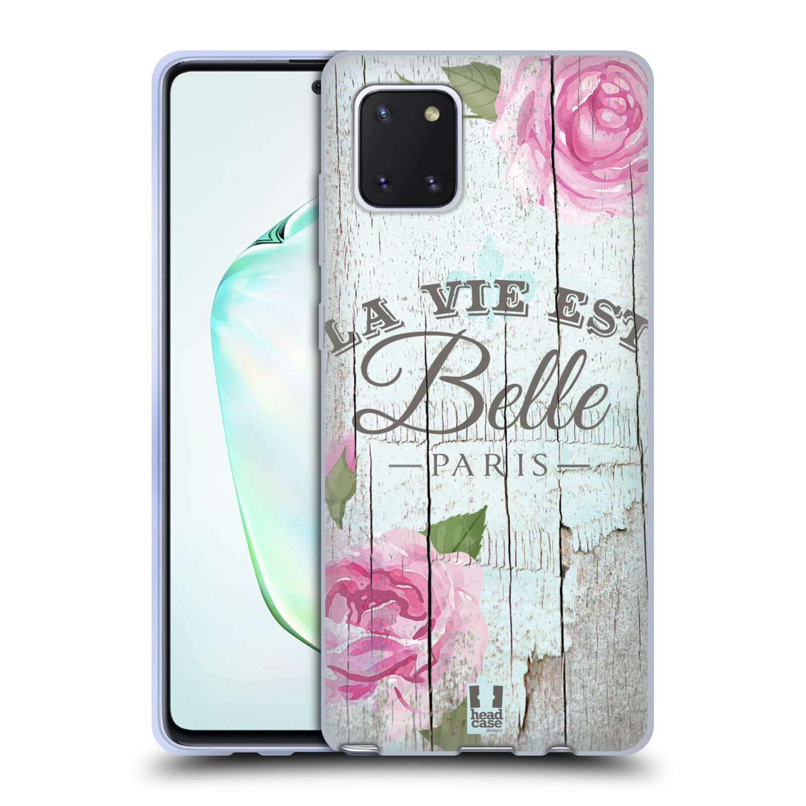 Silikonové pouzdro na mobil Samsung Galaxy Note 10 Lite - Head Case - LIFE IN THE COUNTRY BELLE