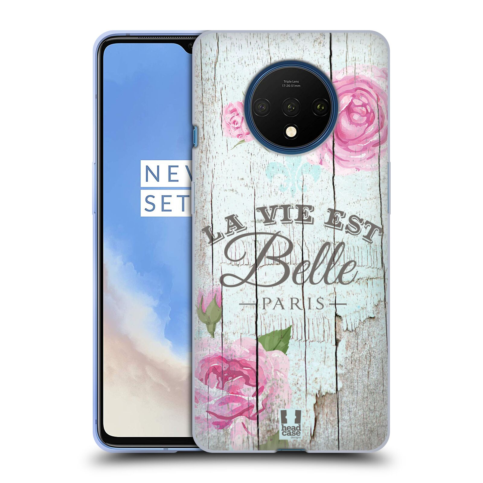 Silikonové pouzdro na mobil OnePlus 7T - Head Case - LIFE IN THE COUNTRY BELLE