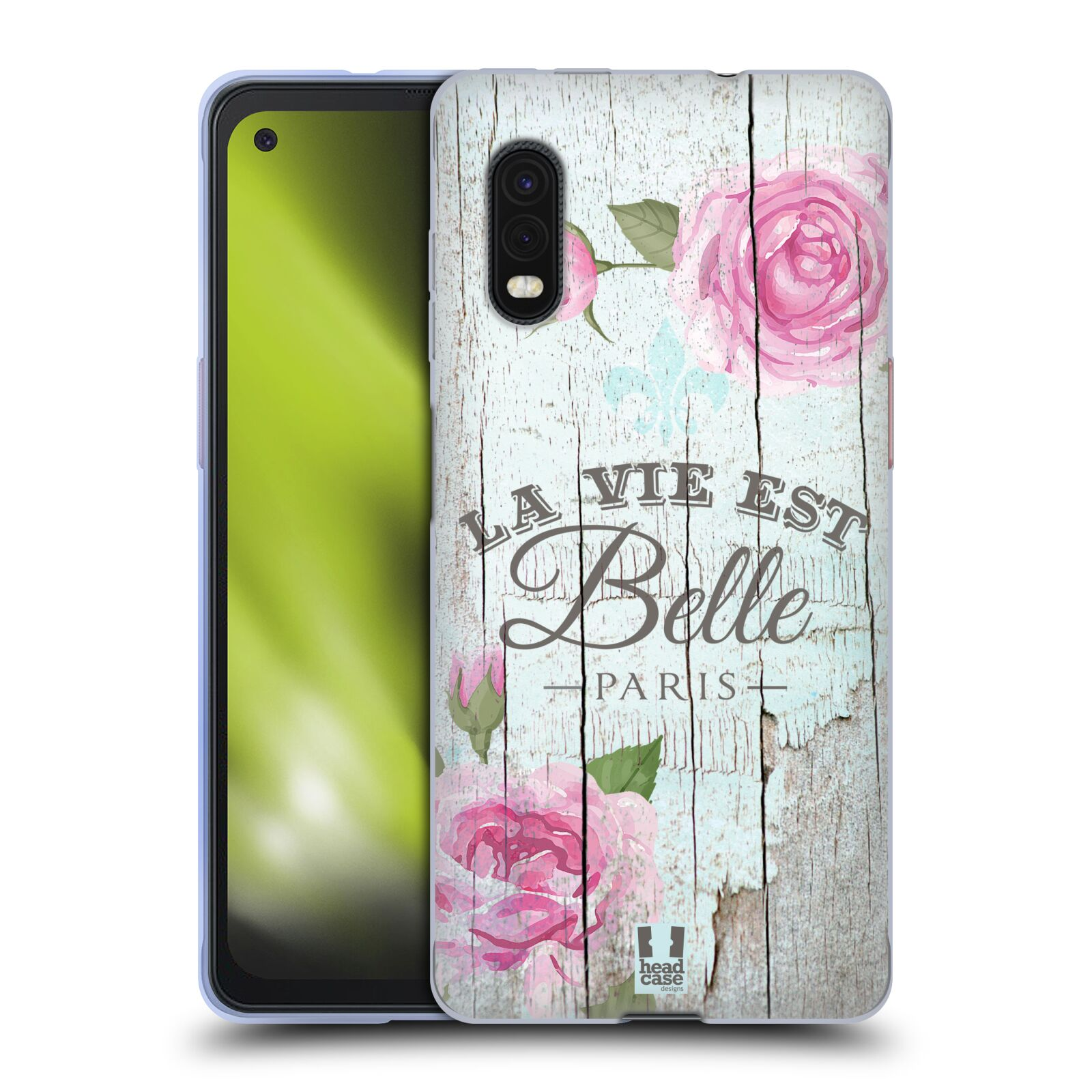 Silikonové pouzdro na mobil Samsung Galaxy Xcover Pro - Head Case - LIFE IN THE COUNTRY BELLE