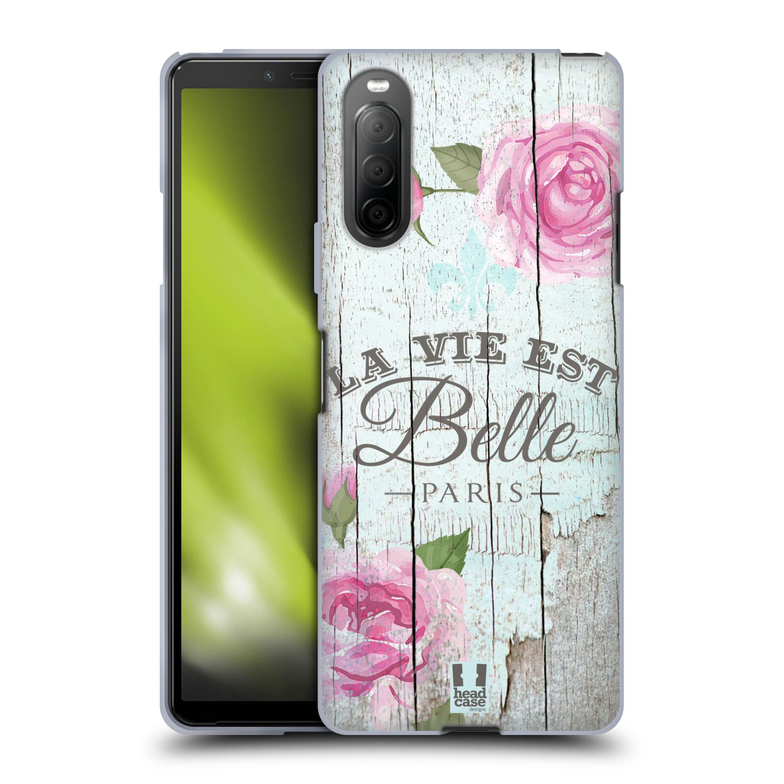Silikonové pouzdro na mobil Sony Xperia 10 II - Head Case - LIFE IN THE COUNTRY BELLE
