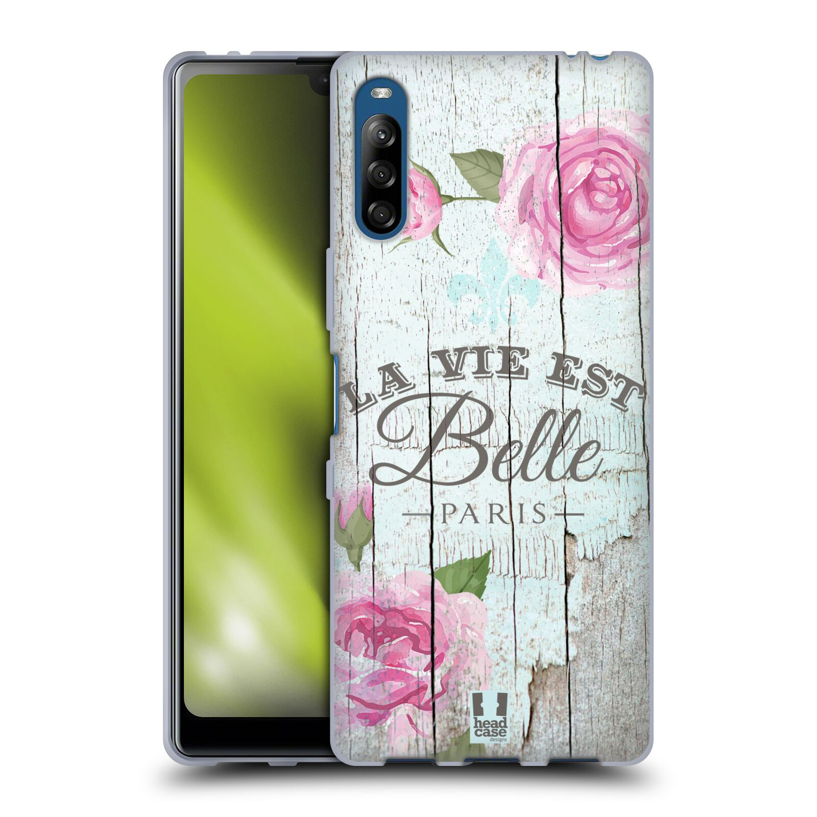 Silikonové pouzdro na mobil Sony Xperia L4 - Head Case - LIFE IN THE COUNTRY BELLE