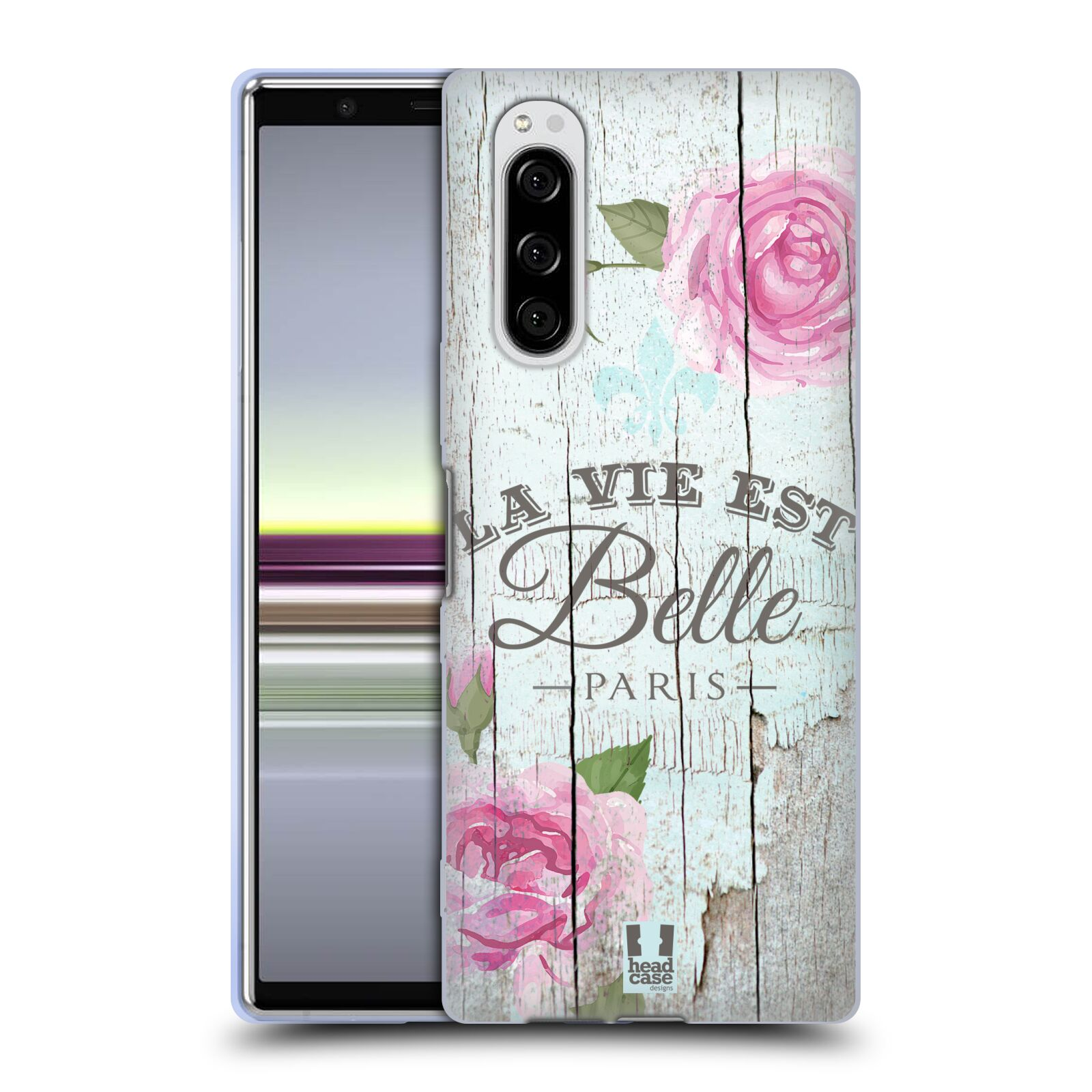 Silikonové pouzdro na mobil Sony Xperia 5 - Head Case - LIFE IN THE COUNTRY BELLE