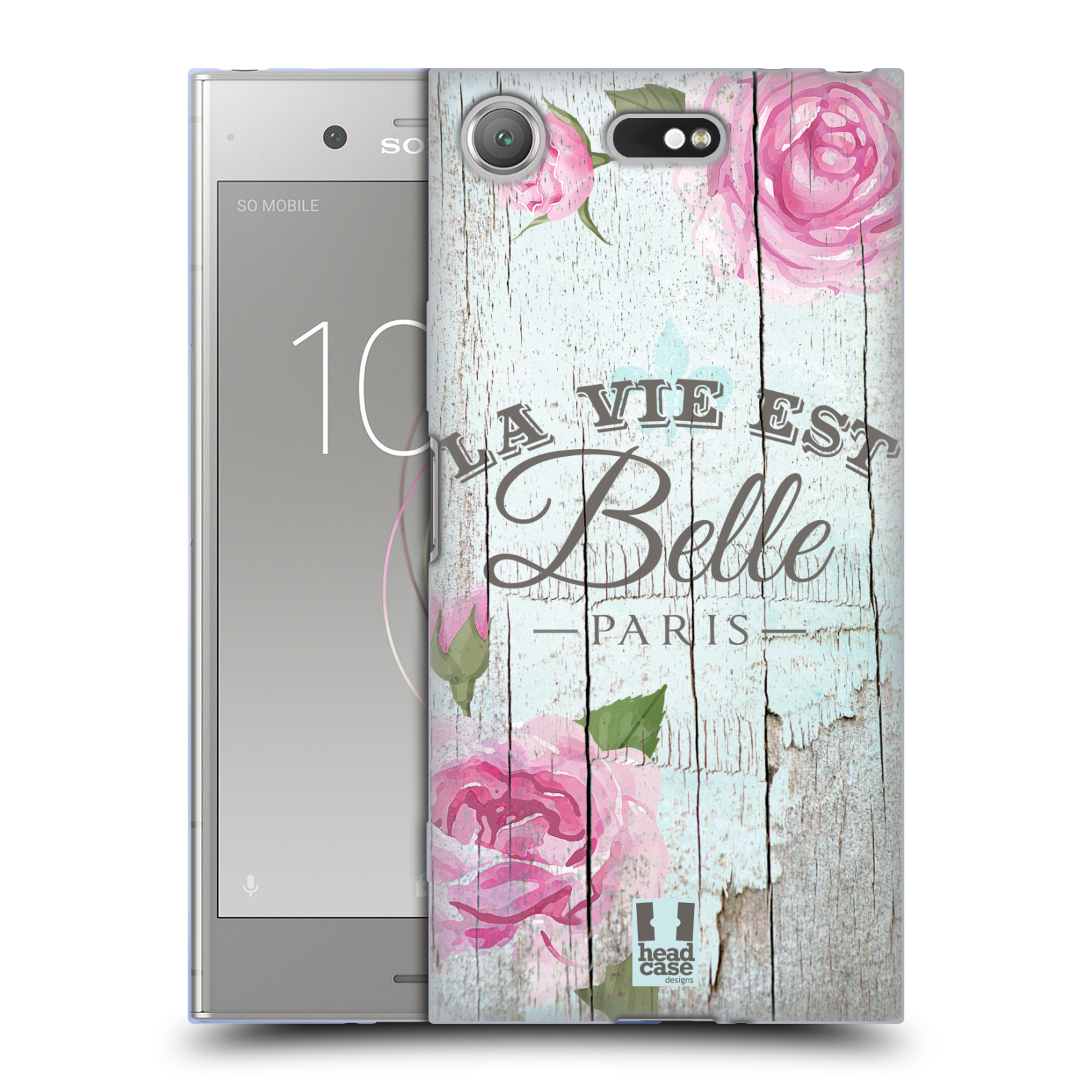 Silikonové pouzdro na mobil Sony Xperia XZ1 Compact - Head Case - LIFE IN THE COUNTRY BELLE