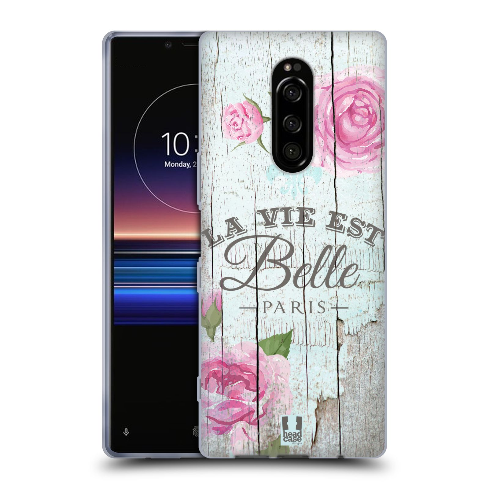 Silikonové pouzdro na mobil Sony Xperia 1 - Head Case - LIFE IN THE COUNTRY BELLE