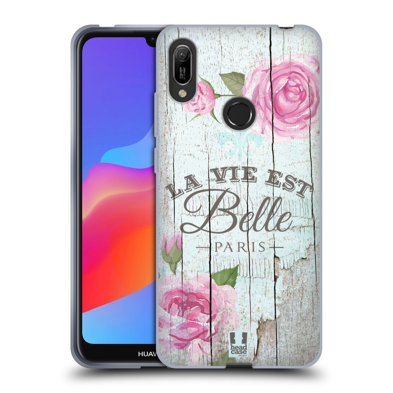 Silikonové pouzdro na mobil Huawei Y6 (2019) - Head Case - LIFE IN THE COUNTRY BELLE