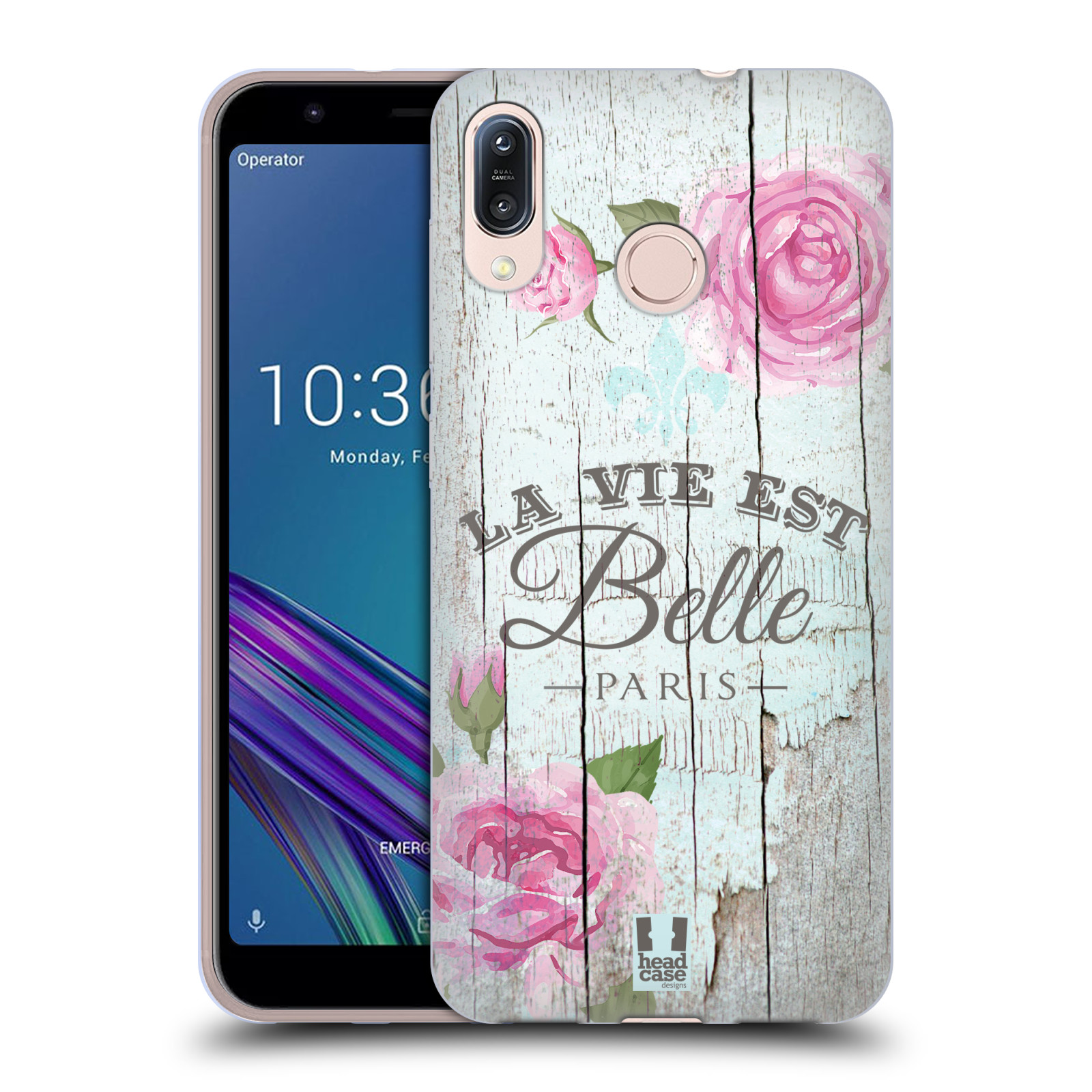 Silikonové pouzdro na mobil Asus Zenfone Max M1 ZB555KL - Head Case - LIFE IN THE COUNTRY BELLE