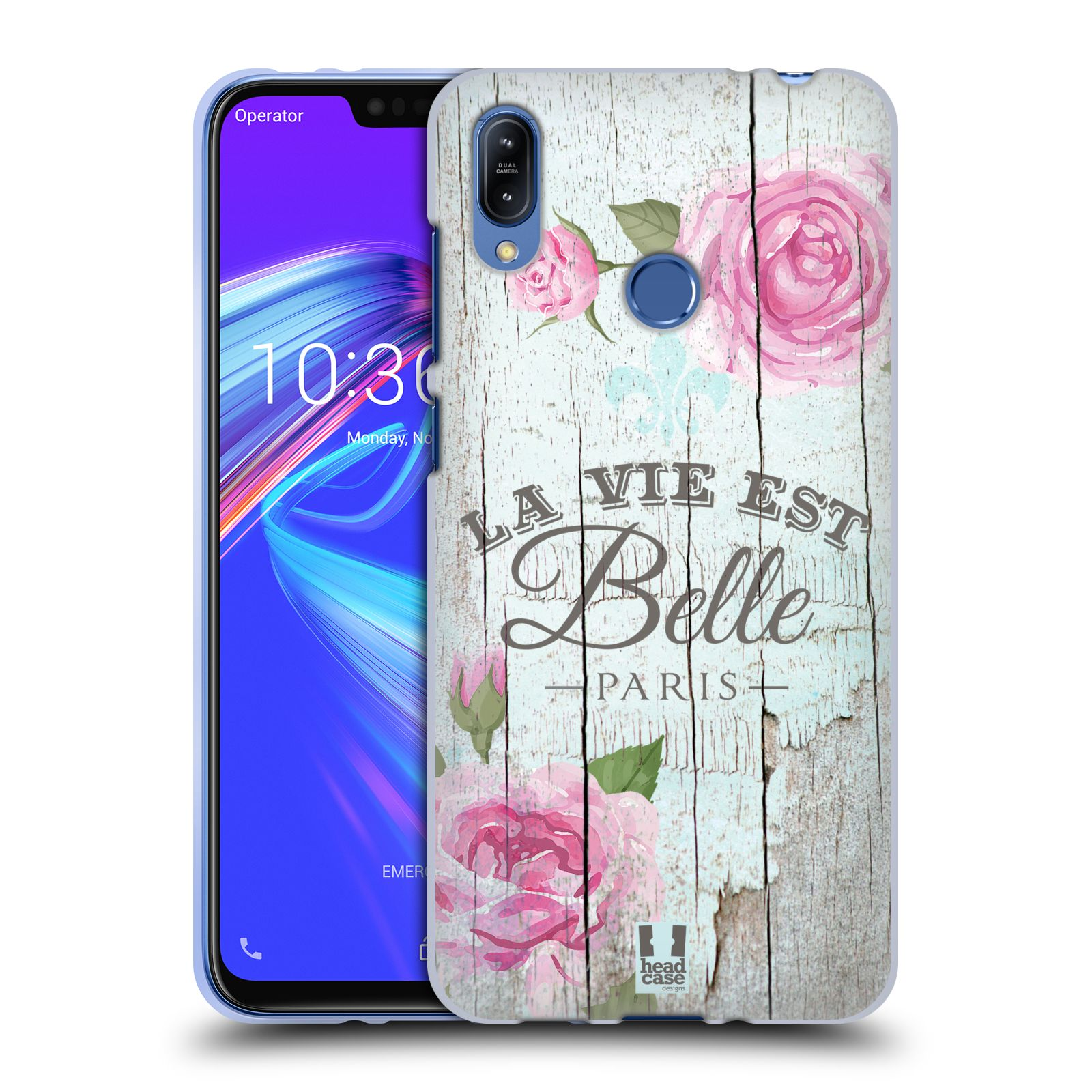 Silikonové pouzdro na mobil Asus Zenfone Max (M2) ZB633KL - Head Case - LIFE IN THE COUNTRY BELLE