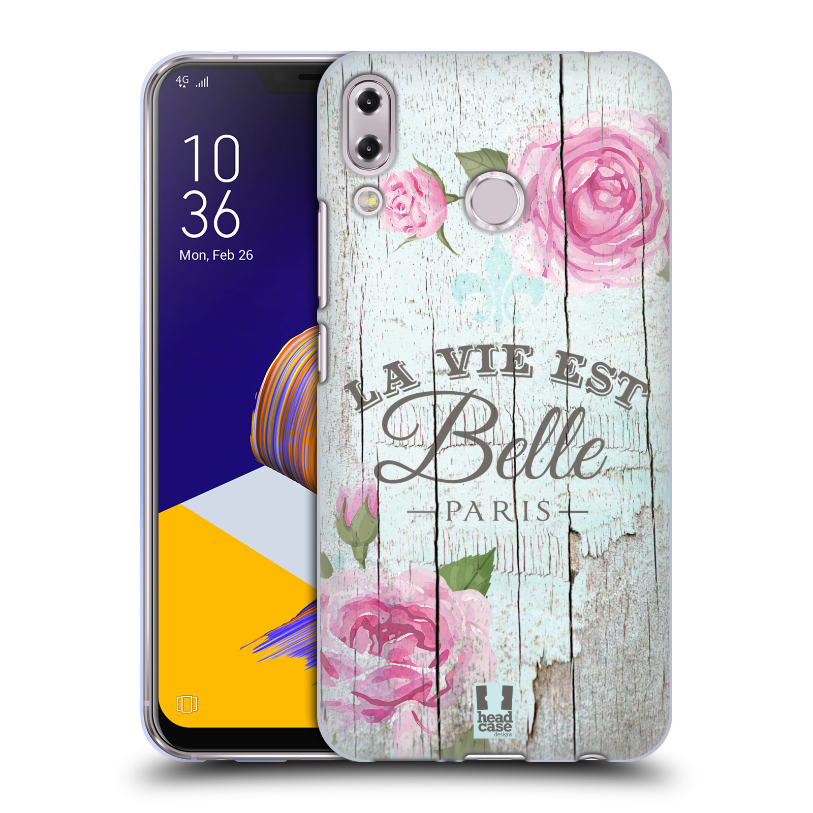 Silikonové pouzdro na mobil Asus ZenFone 5 ZE620KL - Head Case - LIFE IN THE COUNTRY BELLE