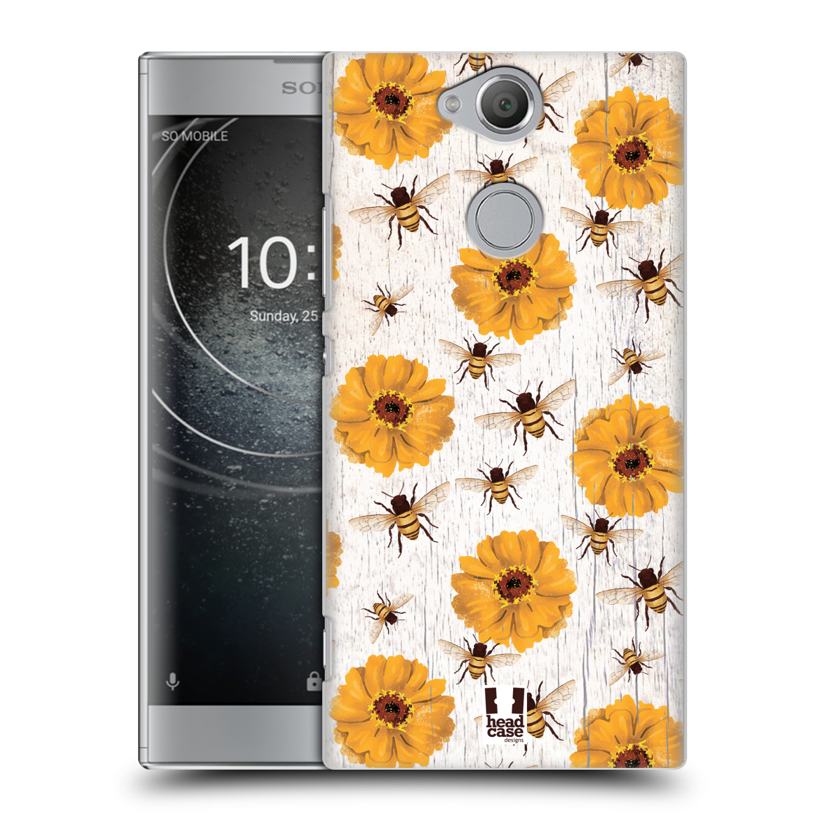Plastové pouzdro na mobil Sony Xperia XA2 - Head Case - LIFE IN THE COUNTRY ZINNIAS