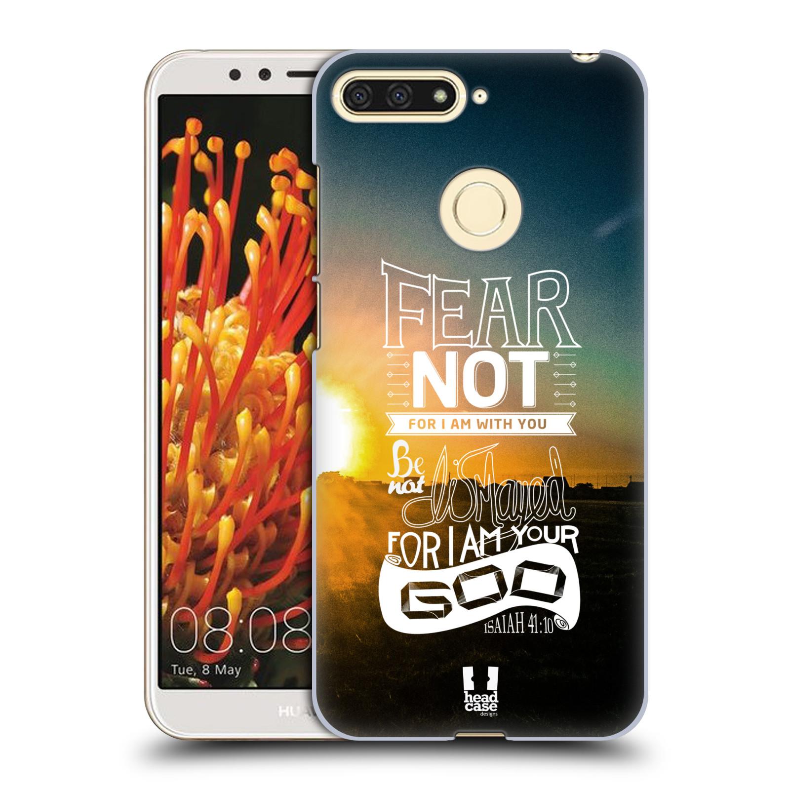 Plastové pouzdro na mobil Honor 7A - Head Case - FEAR
