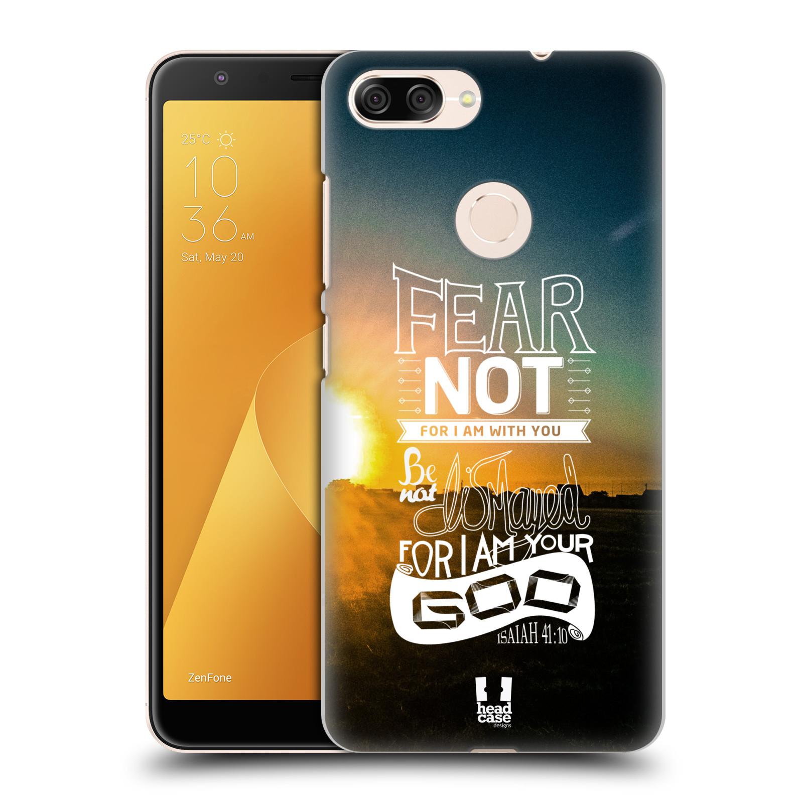 Plastové pouzdro na mobil Asus ZenFone Max Plus (M1) - Head Case - FEAR (Plastový kryt či obal na mobilní telefon Asus ZenFone Max Plus M1 ZB570TL s motivem FEAR)