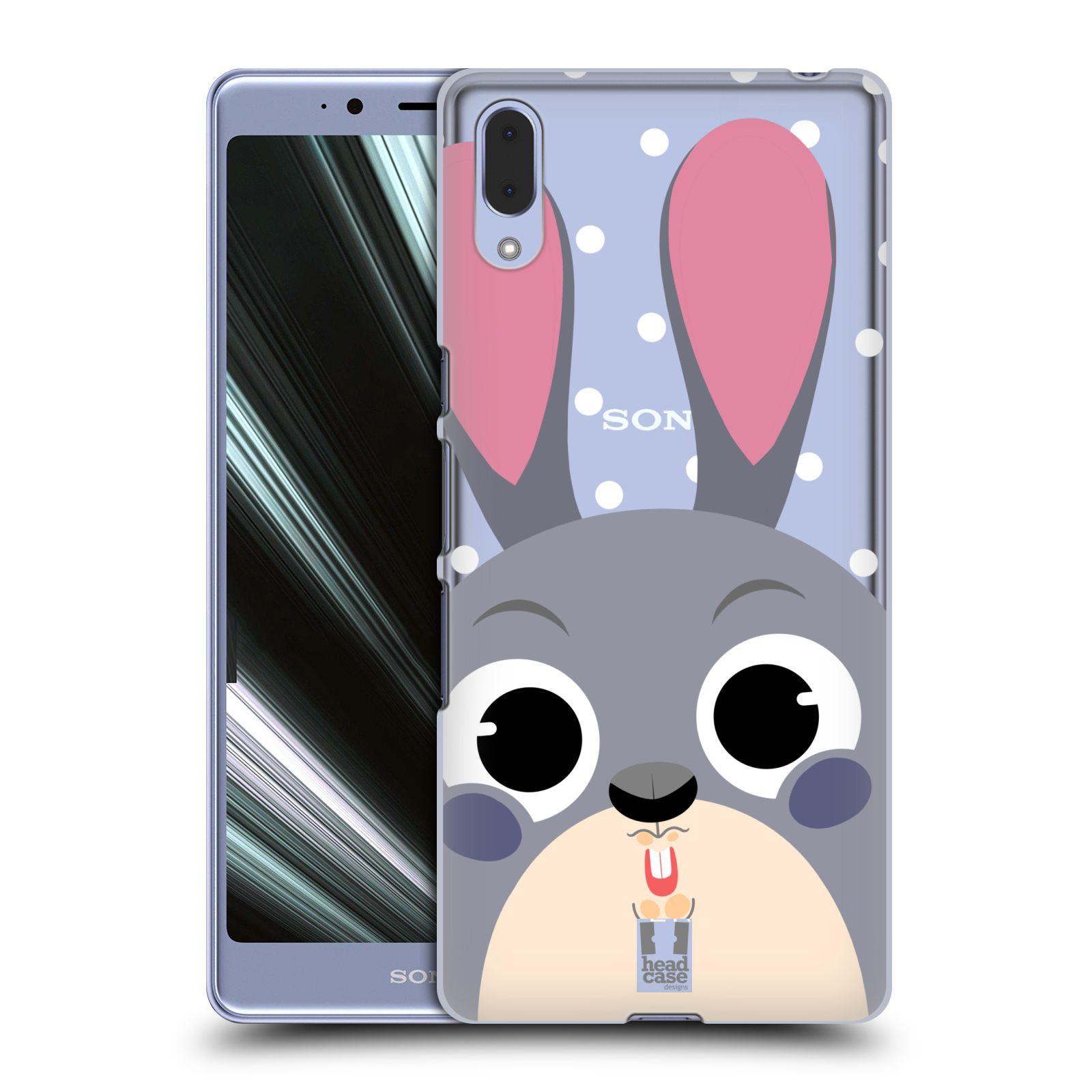 Plastové pouzdro na mobil Sony Xperia L3 - Head Case - Králíček roztomilouš