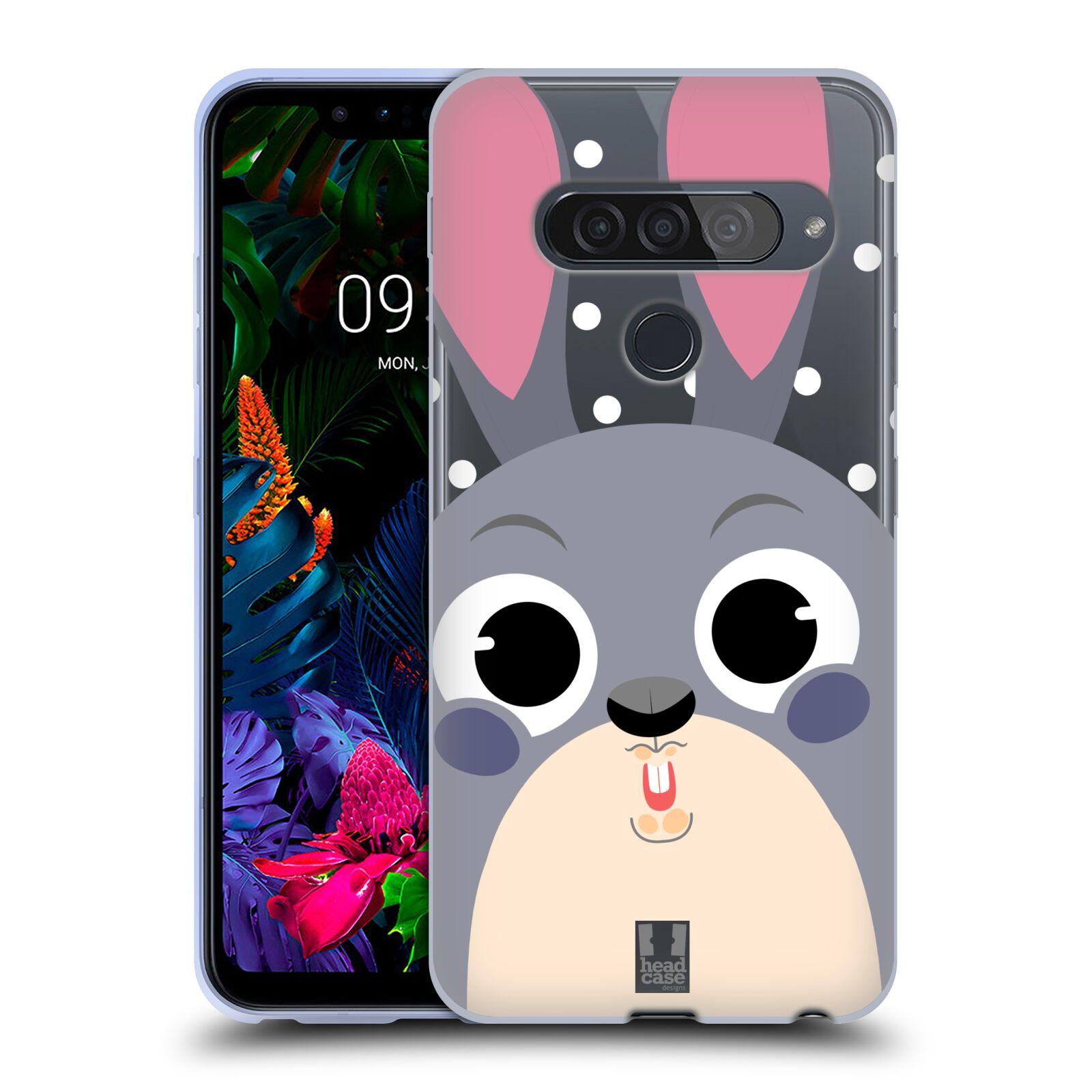 Silikonové pouzdro na mobil LG G8s ThinQ - Head Case - Králíček roztomilouš