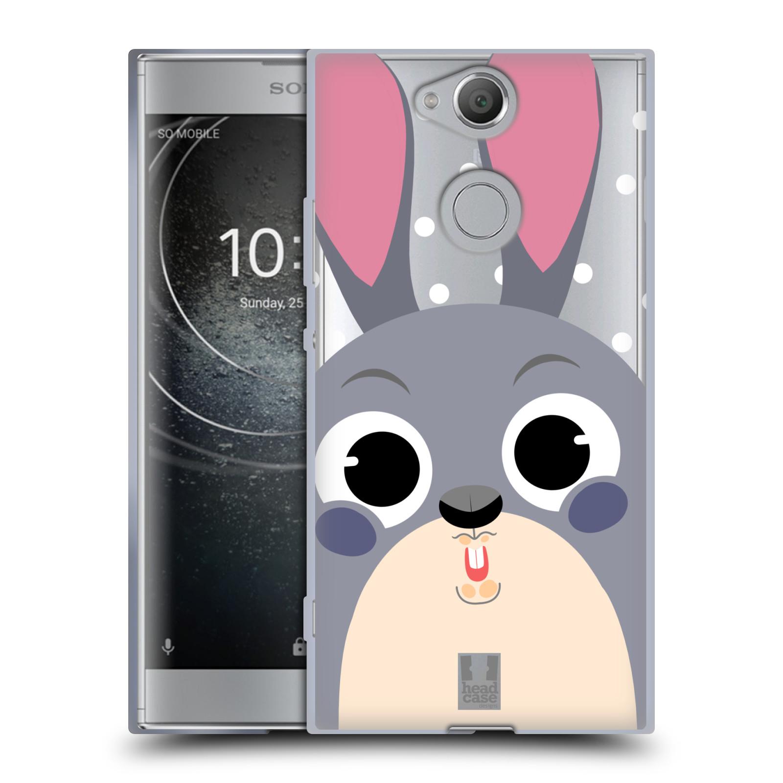 Silikonové pouzdro na mobil Sony Xperia XA2 - Head Case - Králíček roztomilouš