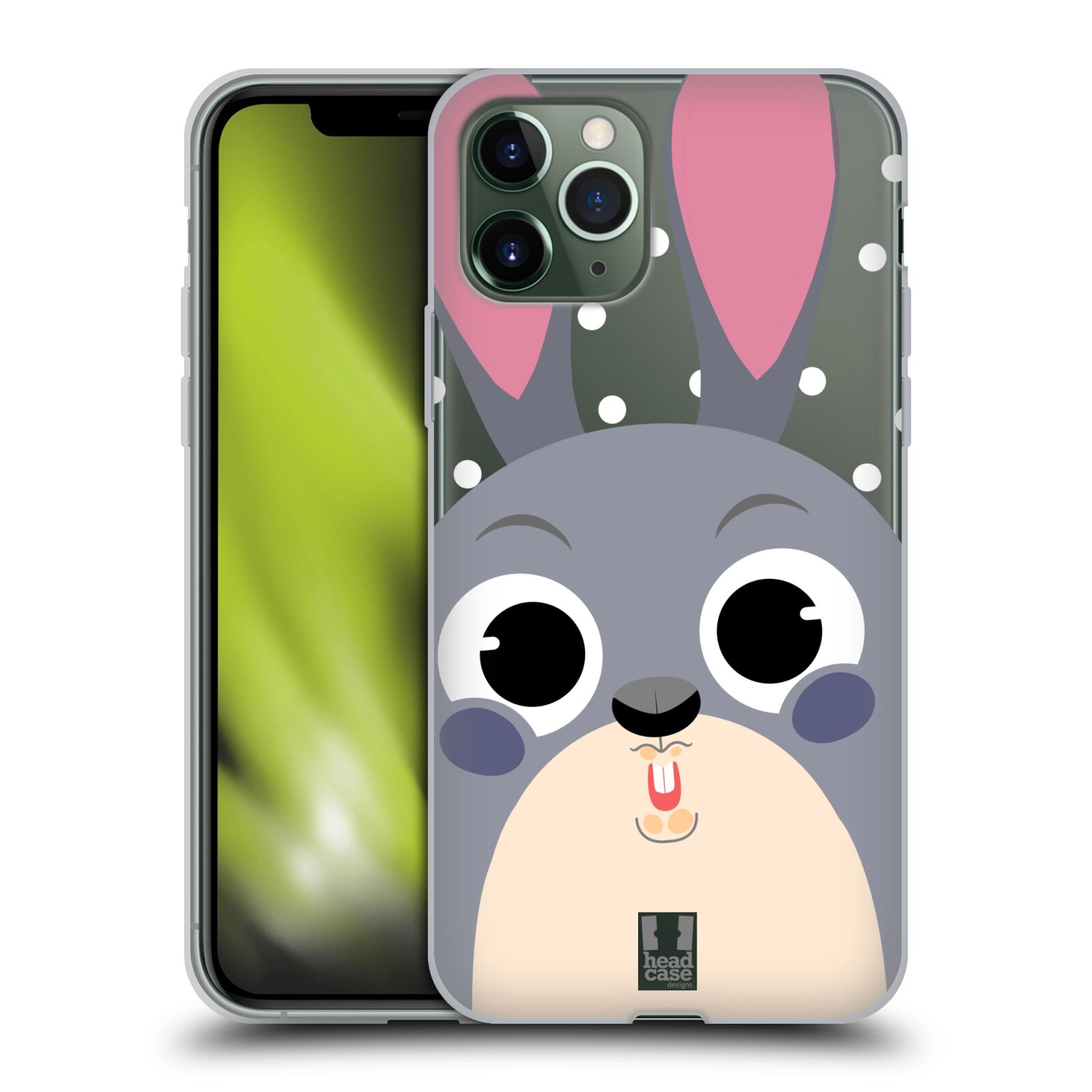 victoria krytu na iphone 7 plus , Silikonové pouzdro na mobil Apple iPhone 11 Pro - Head Case - Králíček roztomilouš