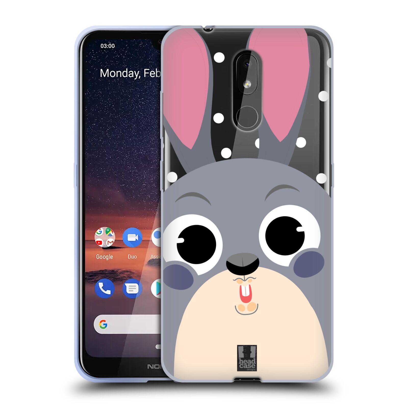 Silikonové pouzdro na mobil Nokia 3.2 - Head Case - Králíček roztomilouš