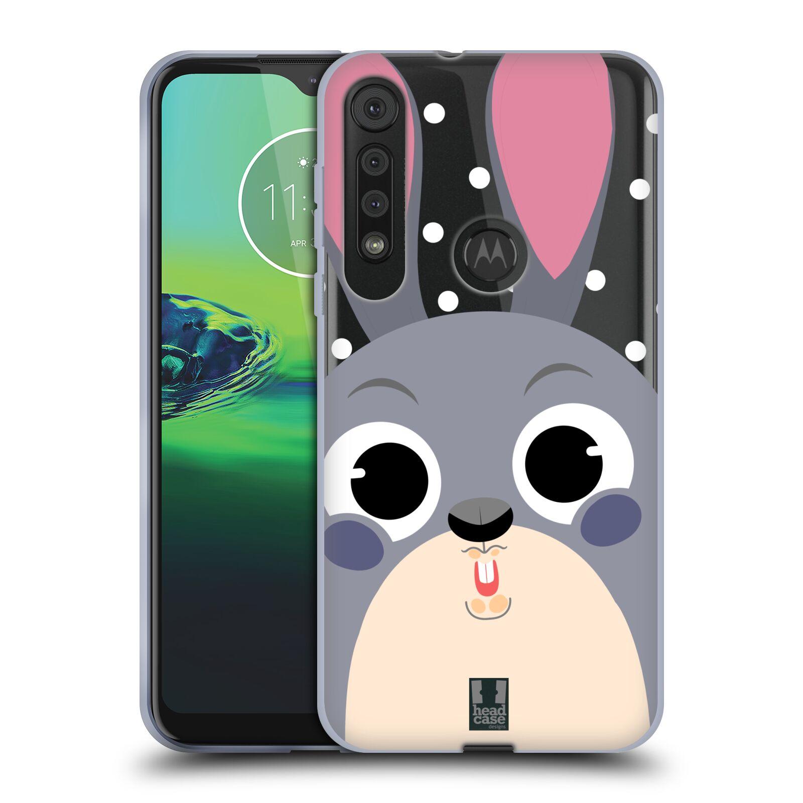 Silikonové pouzdro na mobil Motorola One Macro - Head Case - Králíček roztomilouš