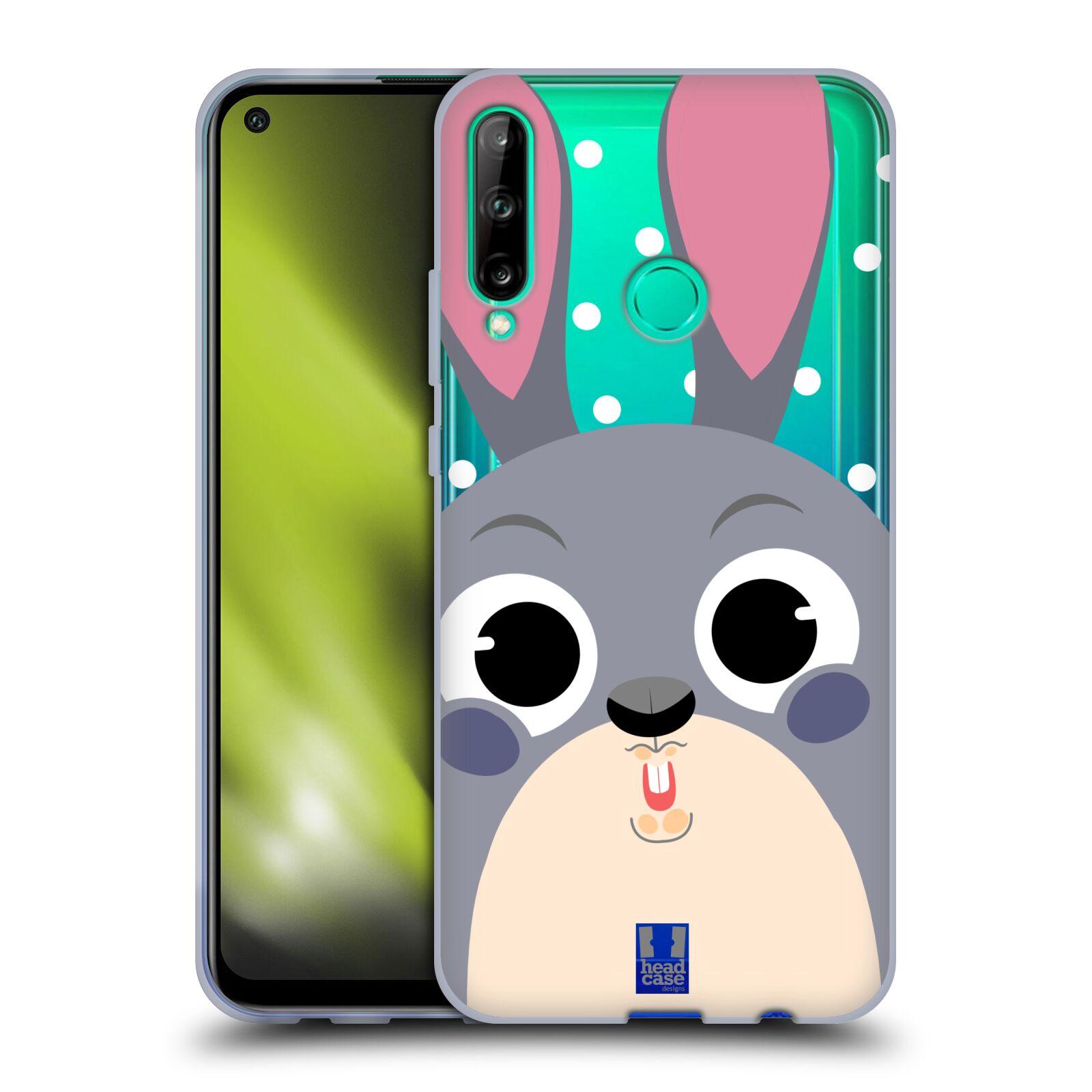 Silikonové pouzdro na mobil Huawei P40 Lite E - Head Case - Králíček roztomilouš