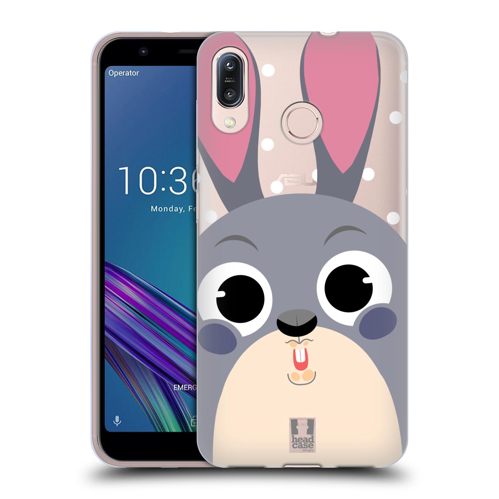 Silikonové pouzdro na mobil Asus Zenfone Max M1 ZB555KL - Head Case - Králíček roztomilouš