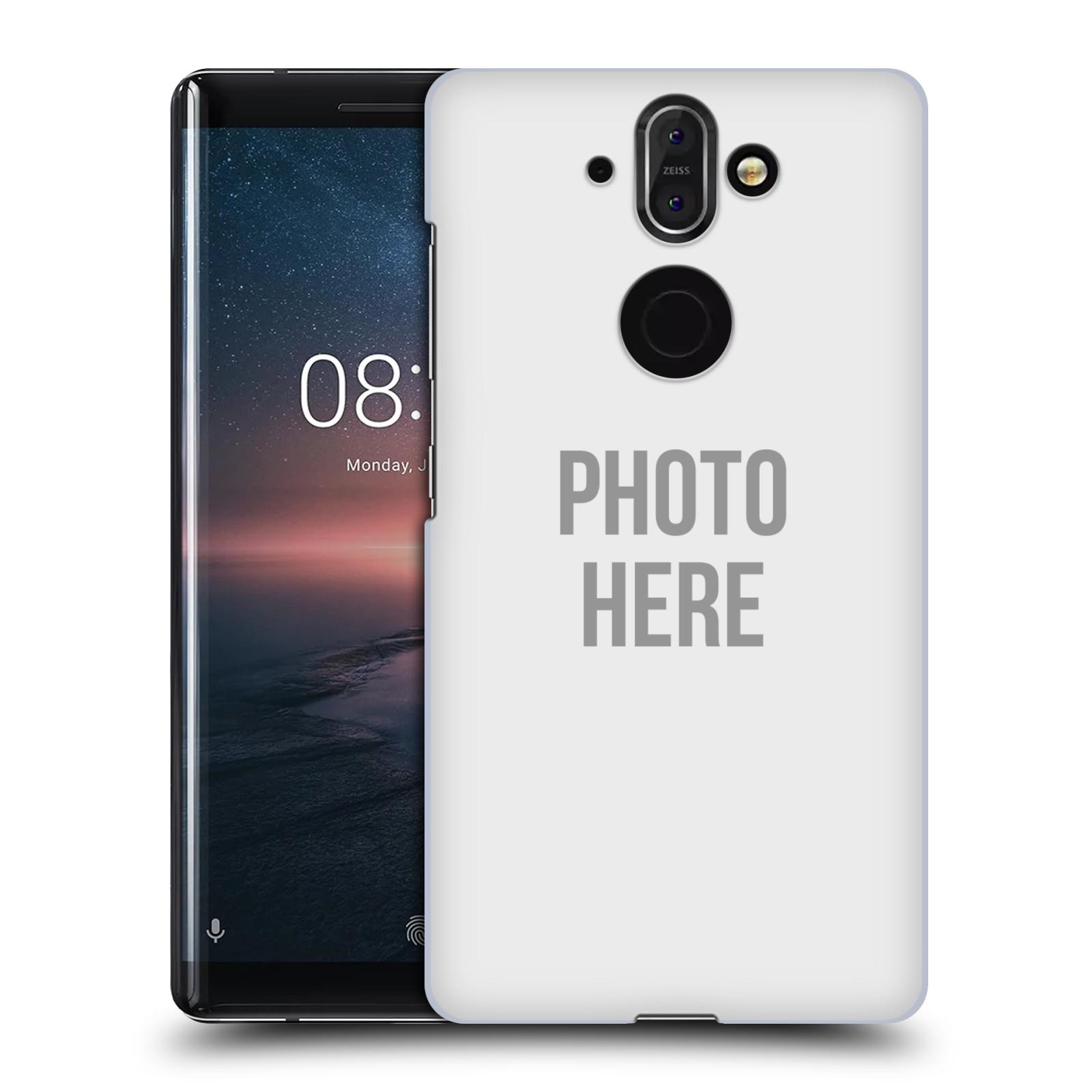 Plastové pouzdro na mobil Nokia 8 Sirocco - Head Case - s vlastním motivem