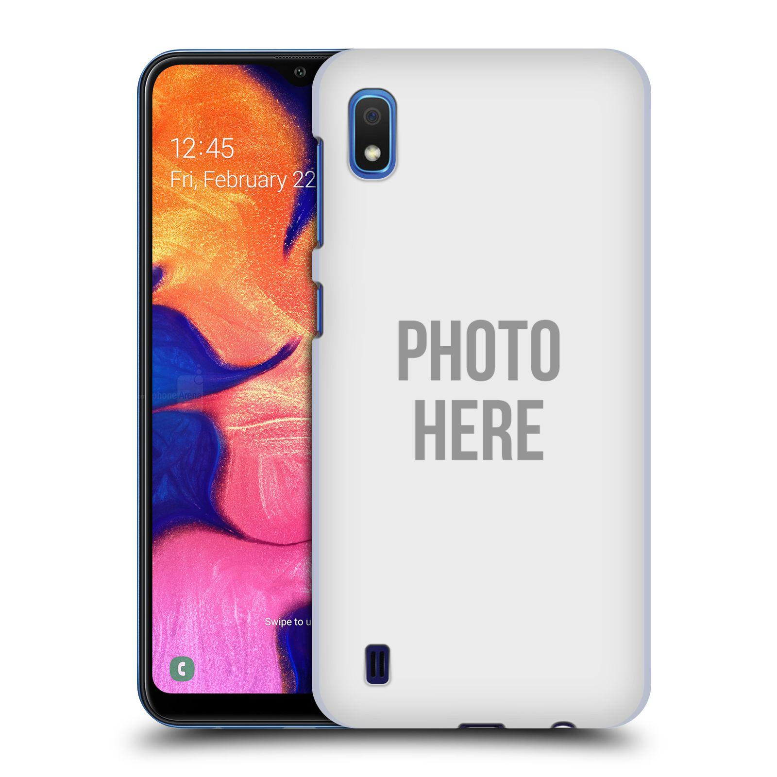 Plastové pouzdro na mobil Samsung Galaxy A10 - Head Case - s vlastním motivem