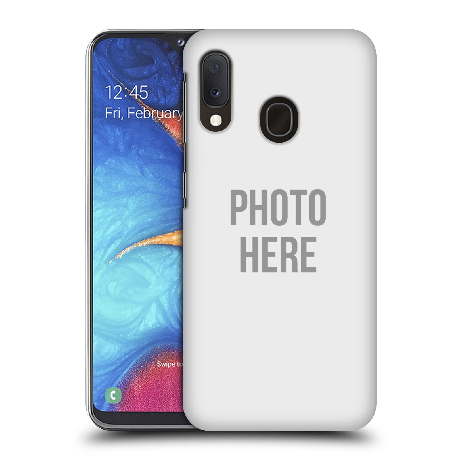 Plastové pouzdro na mobil Samsung Galaxy A20e - Head Case - s vlastním motivem