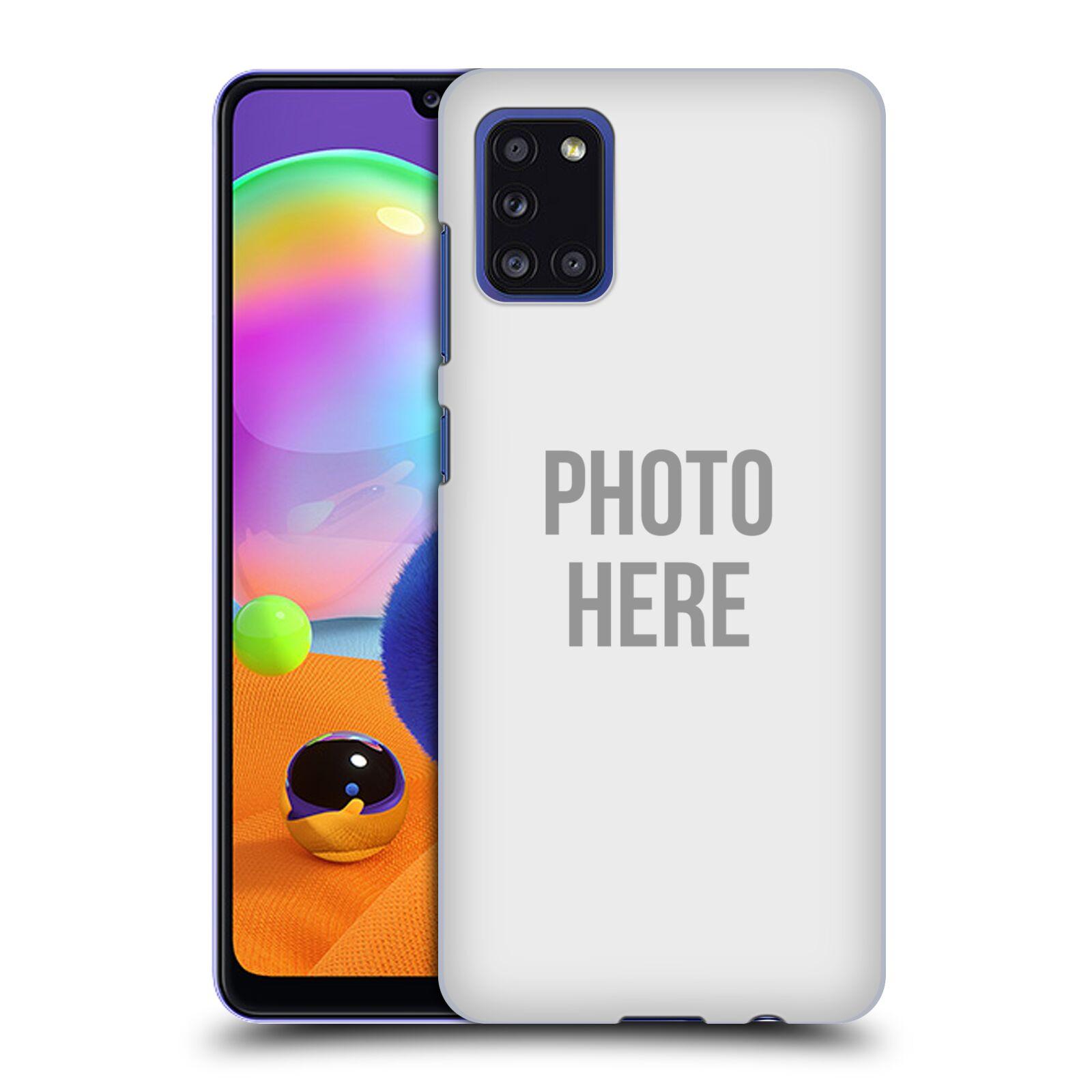 Plastové pouzdro na mobil Samsung Galaxy A31 s vlastním motivem
