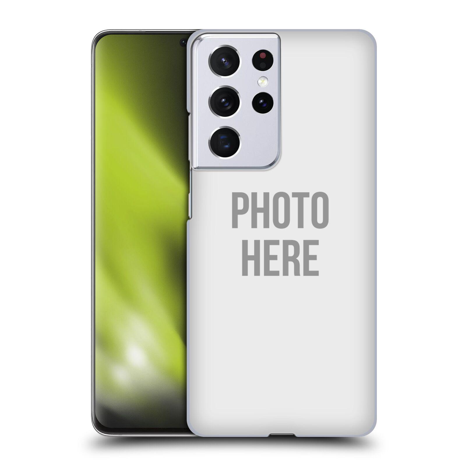 Plastové pouzdro na mobil Samsung Galaxy S21 Ultra 5G s vlastním motivem