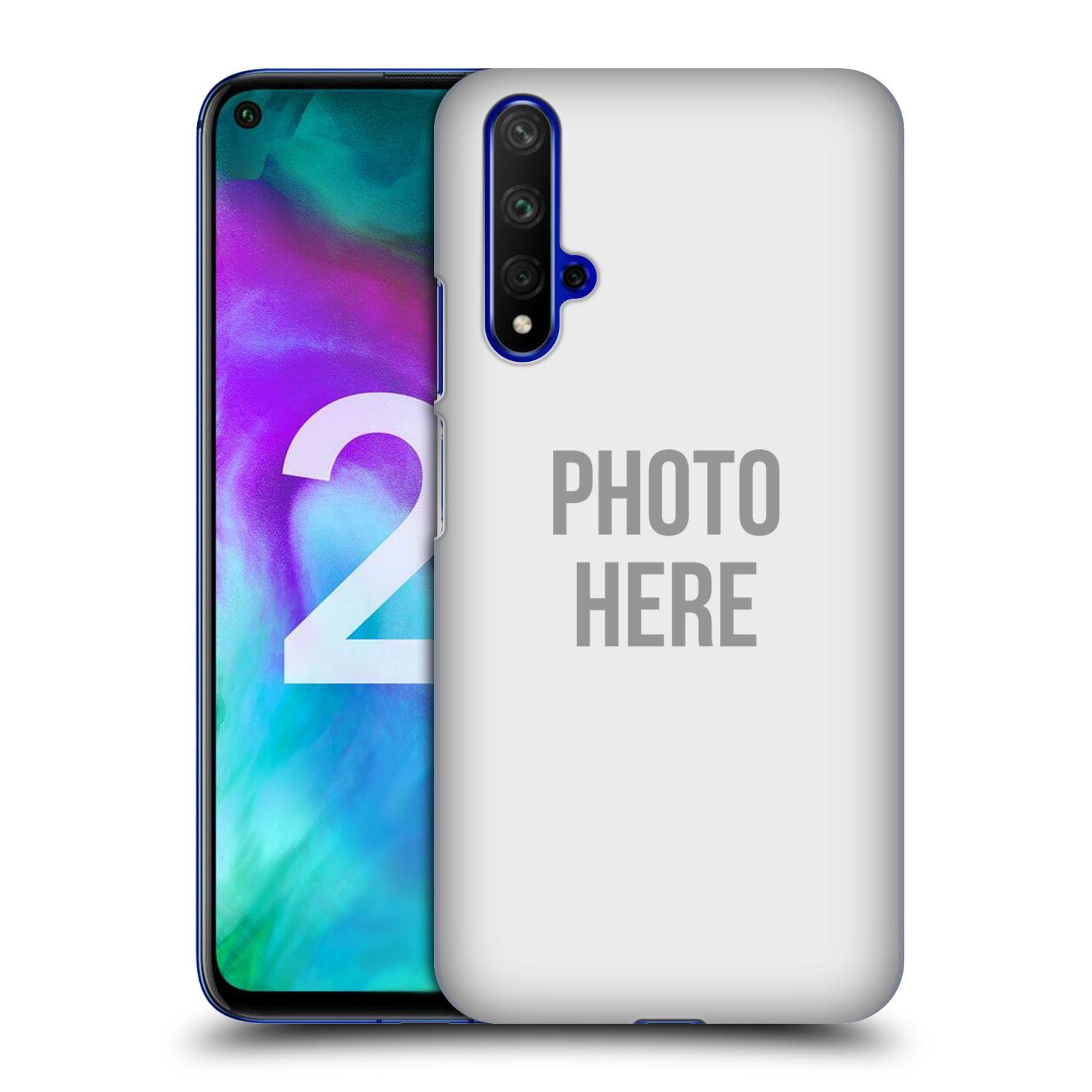 Plastové pouzdro na mobil Honor 20 - Head Case - s vlastním motivem
