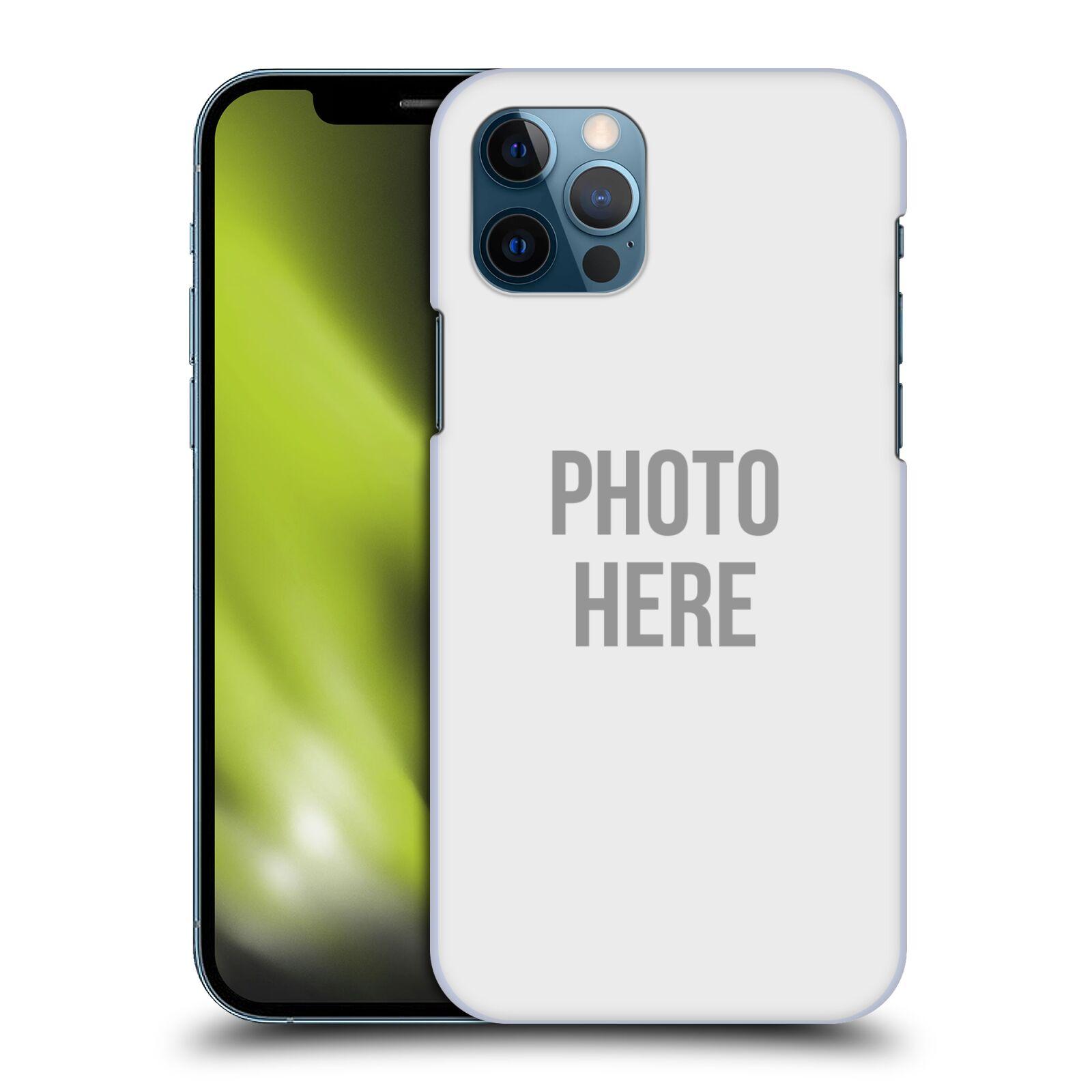 Plastové pouzdro na mobil Apple iPhone 12 / 12 Pro s vlastním motivem