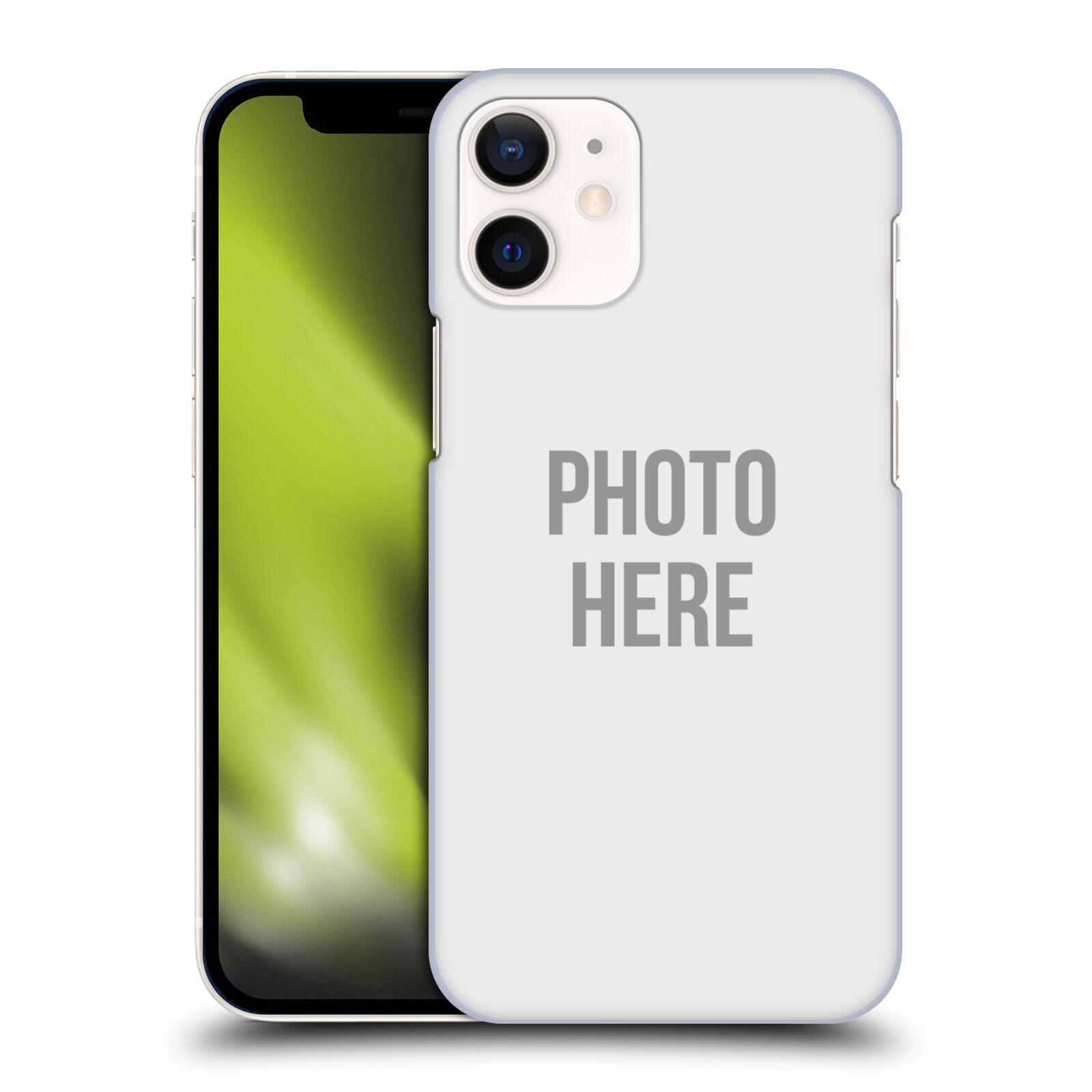Plastové pouzdro na mobil Apple iPhone 12 Mini s vlastním motivem