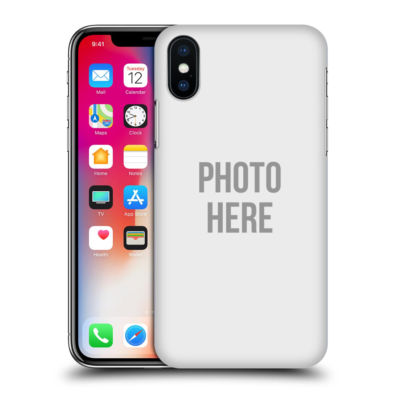 Plastové pouzdro na mobil Apple iPhone XS - Head Case - s vlastním motivem