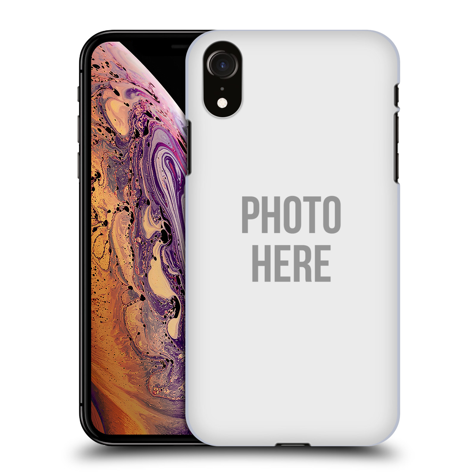 Plastové pouzdro na mobil Apple iPhone XR - Head Case - s vlastním motivem