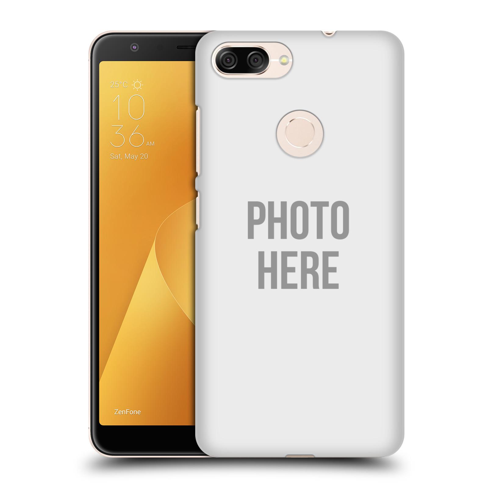 Plastové pouzdro na mobil Asus ZenFone Max Plus (M1) - Head Case - s vlastním motivem