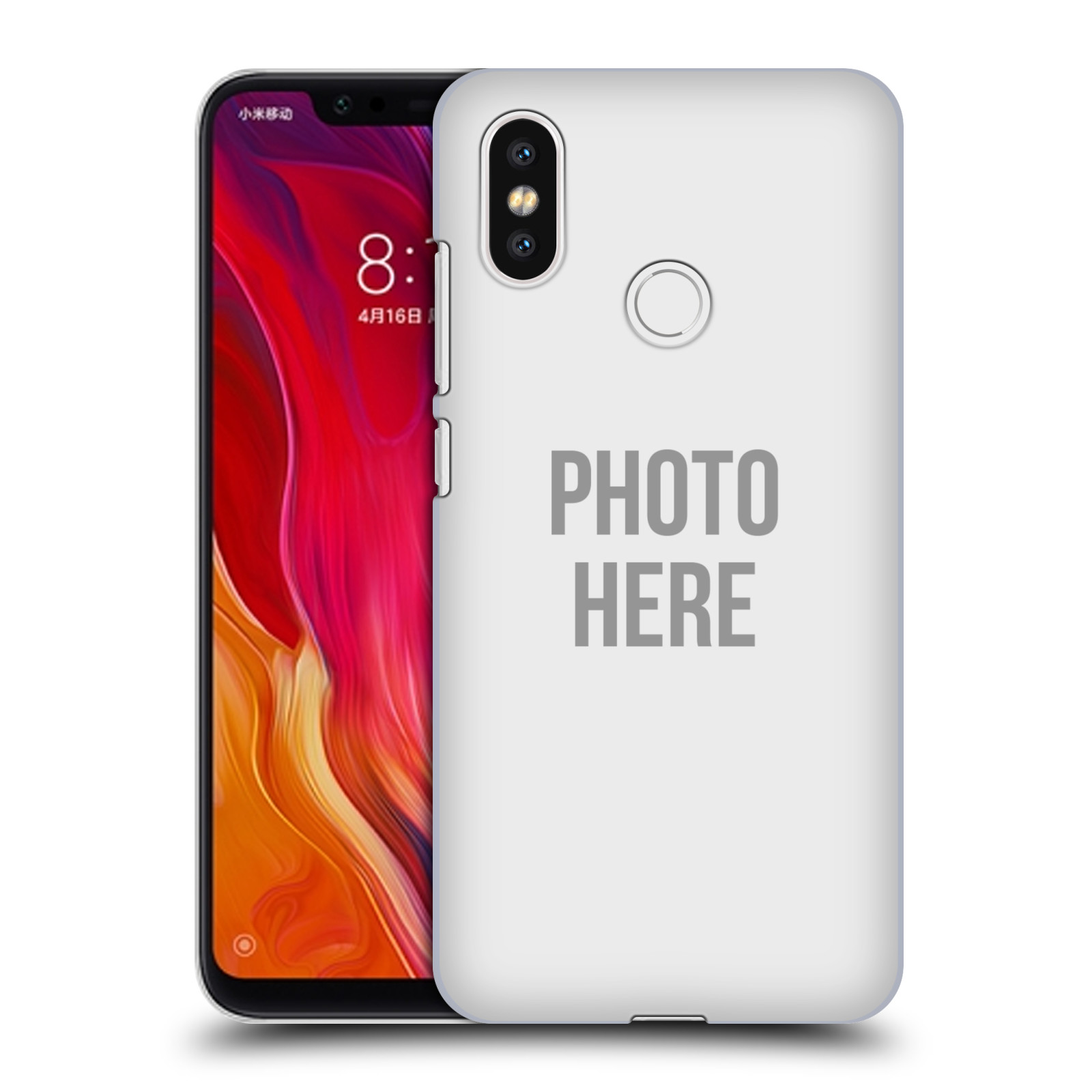 Plastové pouzdro na mobil Xiaomi Mi8 - Head Case - s vlastním motivem