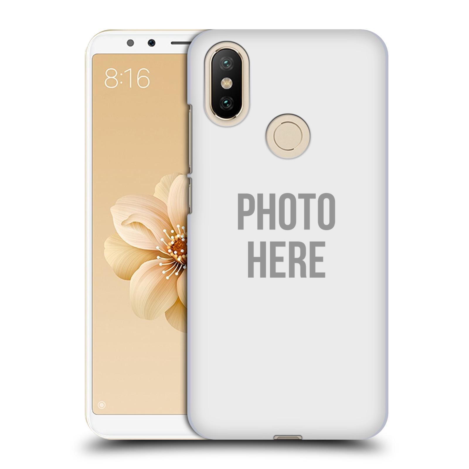 Plastové pouzdro na mobil Xiaomi Mi A2 - Head Case - s vlastním motivem