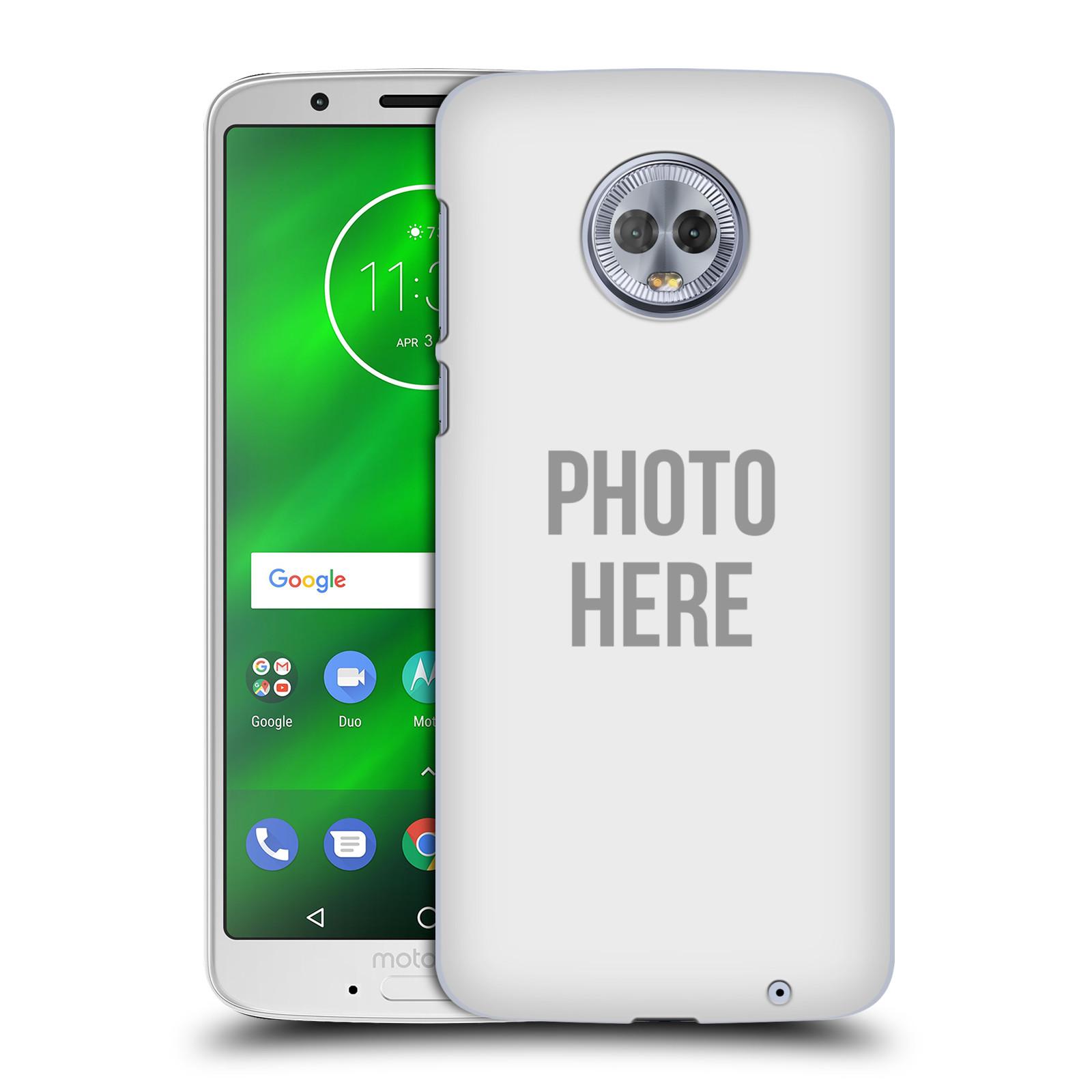 Plastové pouzdro na mobil Motorola Moto G6 Plus - Head Case - s vlastním motivem