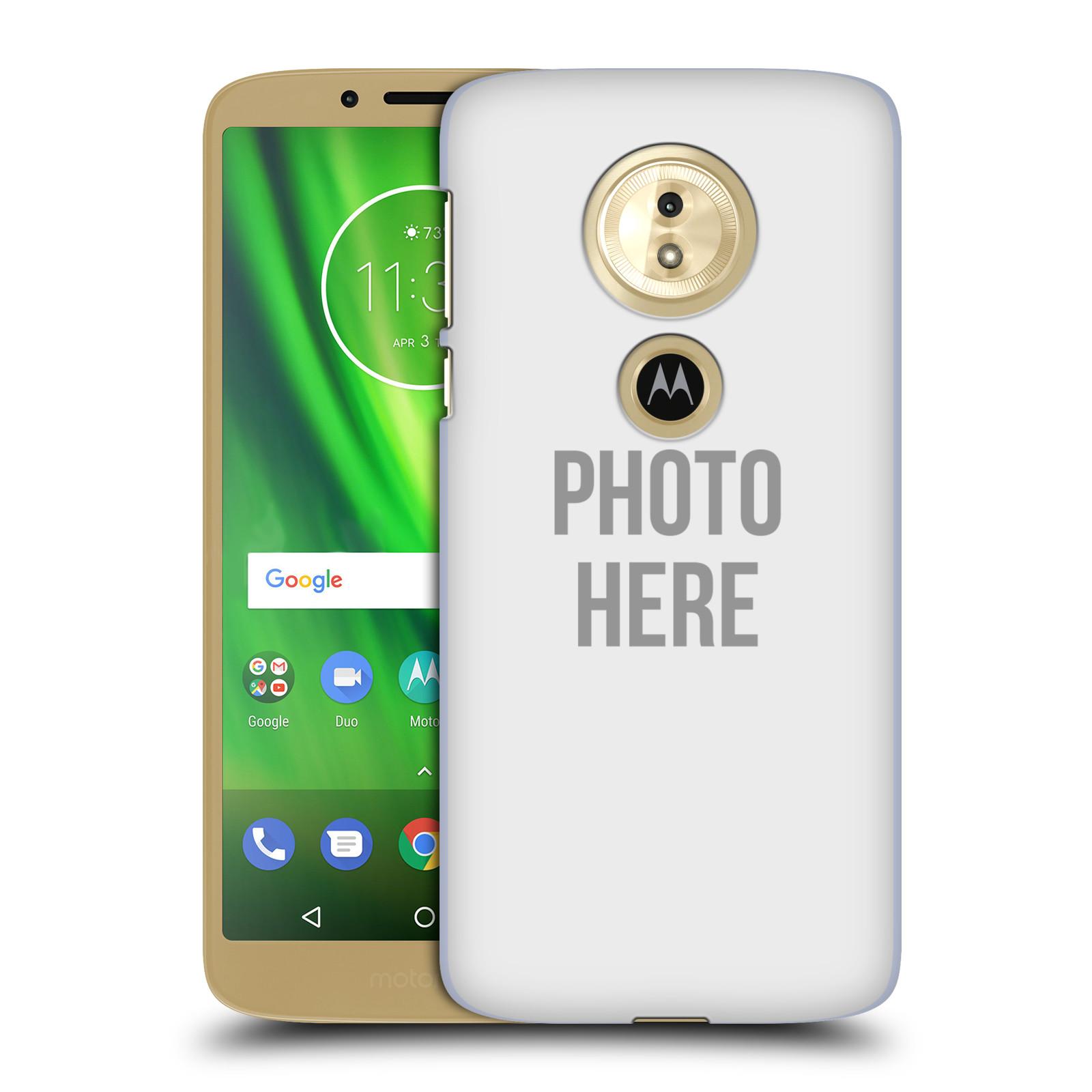 Plastové pouzdro na mobil Motorola Moto G6 Play - Head Case - s vlastním motivem