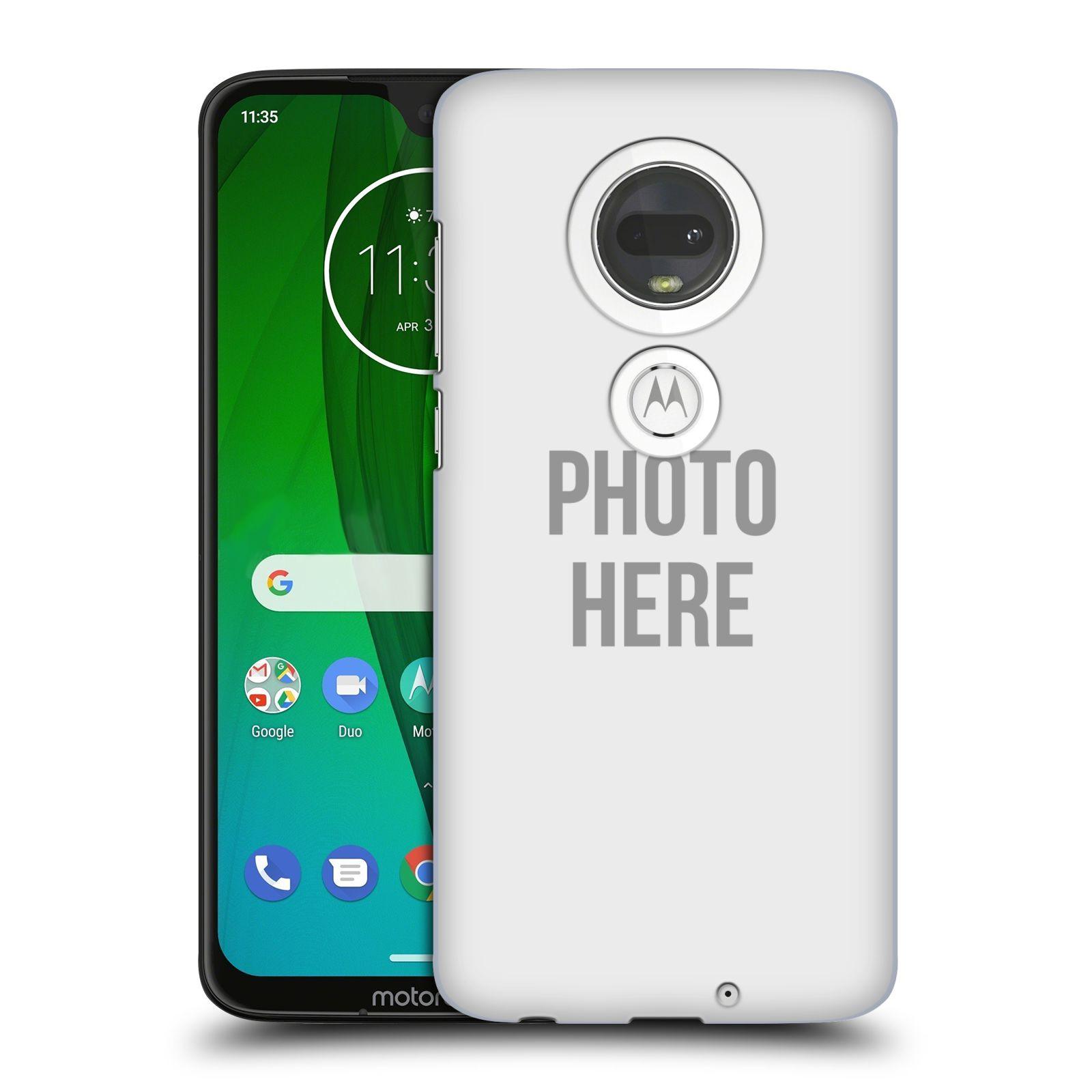Plastové pouzdro na mobil Motorola Moto G7 - Head Case - s vlastním motivem