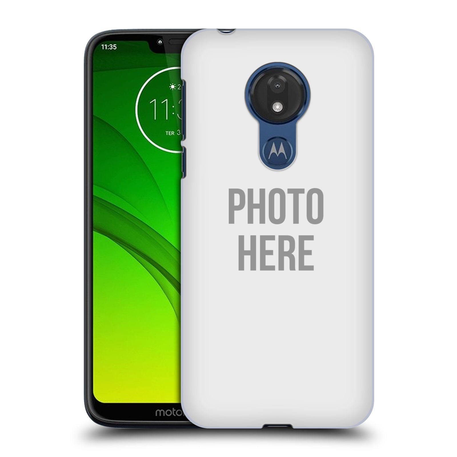Plastové pouzdro na mobil Motorola Moto G7 Power - Head Case - s vlastním motivem