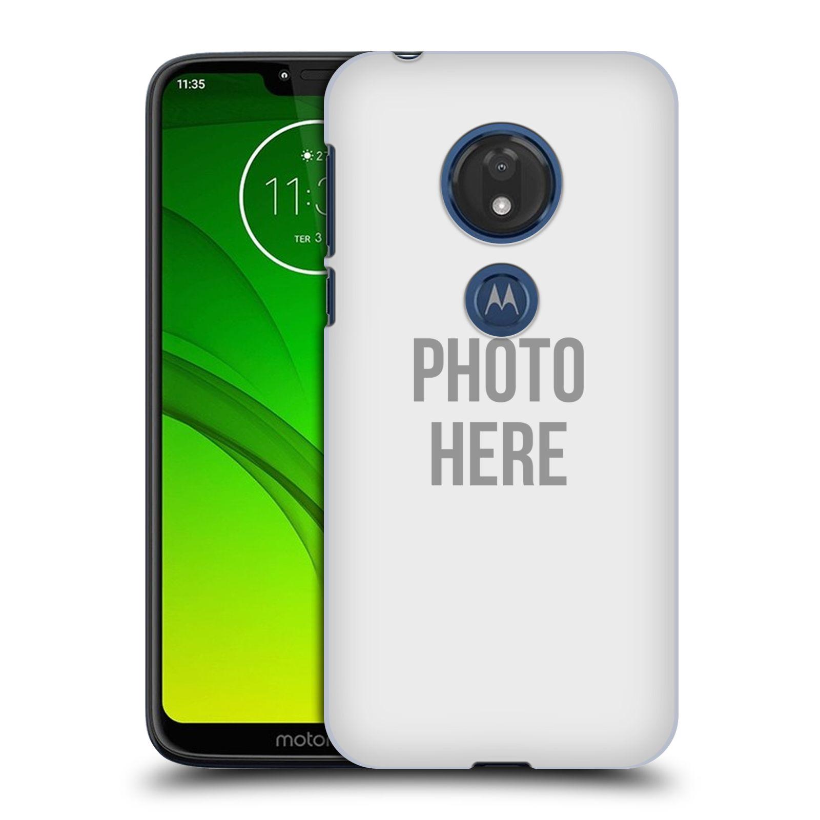 Plastové pouzdro na mobil Motorola Moto G7 Play - Head Case - s vlastním motivem