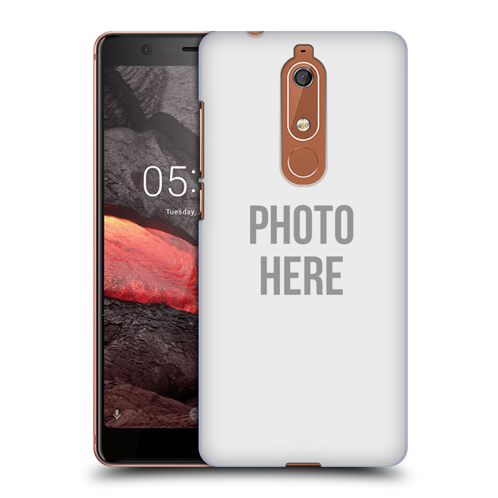 Plastové pouzdro na mobil Nokia 5.1 - Head Case - s vlastním motivem