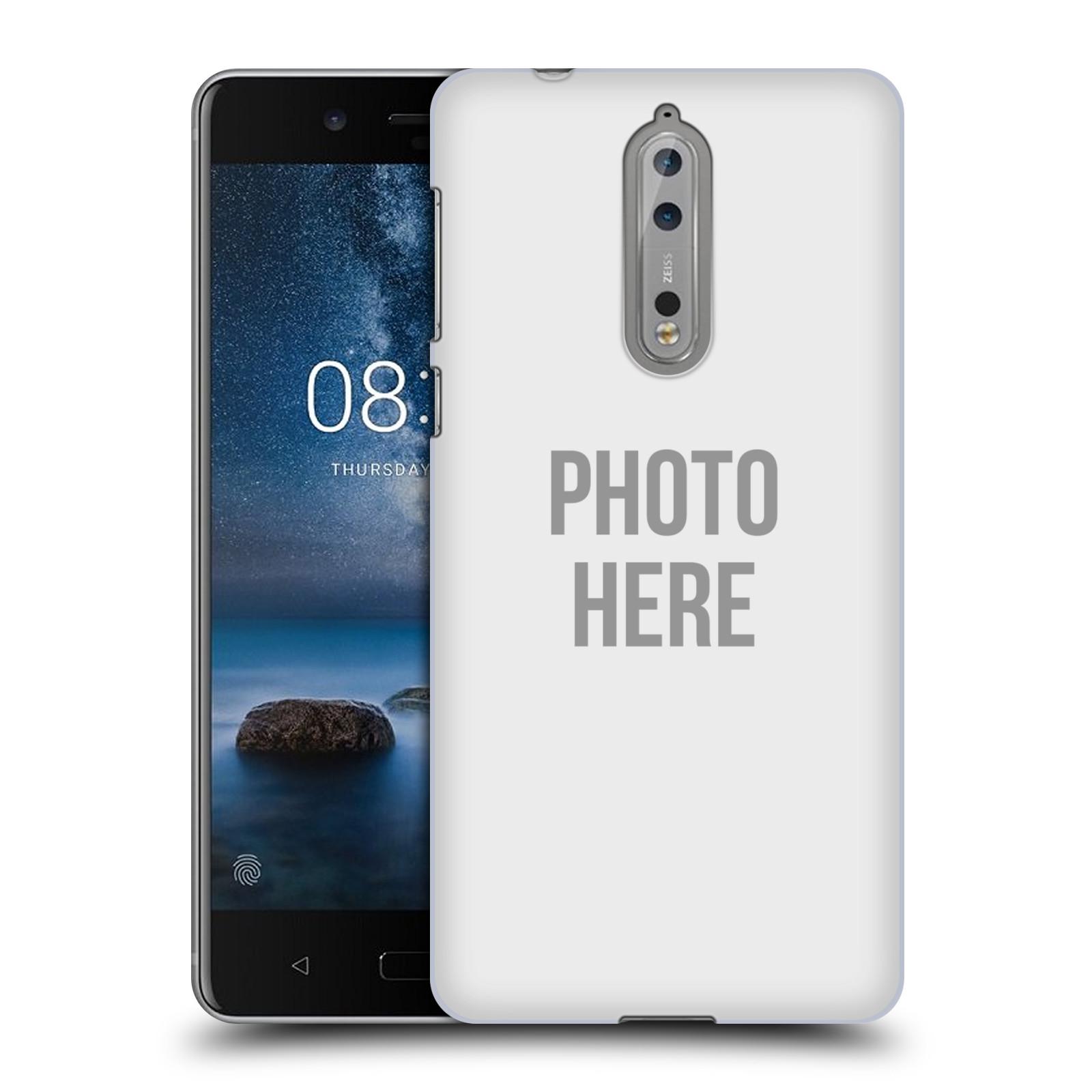 Plastové pouzdro na mobil Nokia 8 - Head Case - s vlastním motivem (Plastový kryt či obal na mobilní telefon Nokia 8 s vlastním motivem)